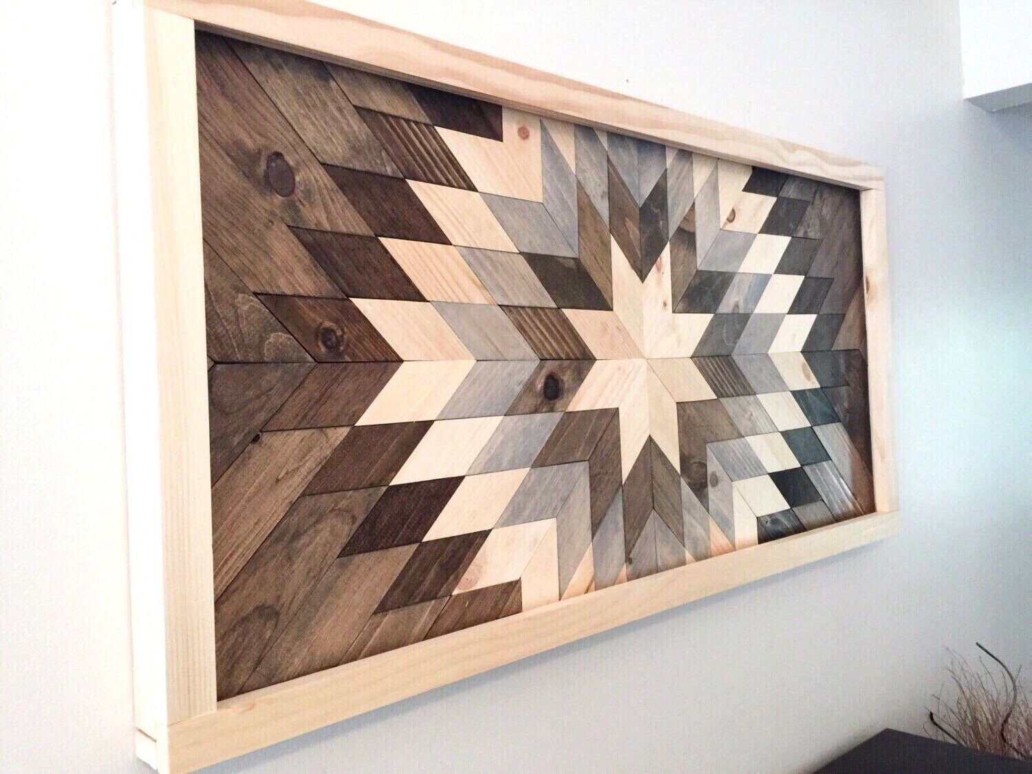 Wood Art Wall Throughout Most Recently Released Wood Art Wall Decor – Blogtipsworld (View 13 of 20)