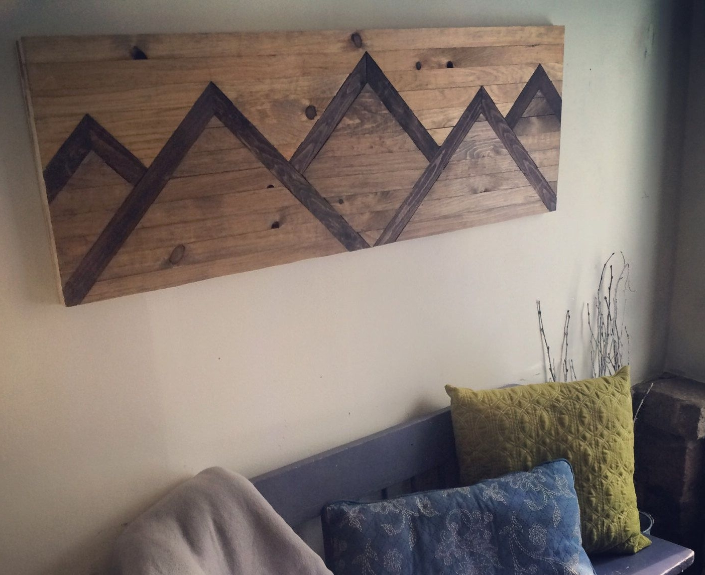 Wood Intended For Diy Wood Wall Art (Gallery 1 of 20)