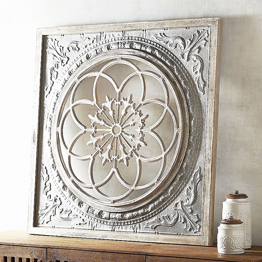 Wood Medallion Wall Art With Best And Newest Wall Art: Elegant Outdoor Medallion Wall A ~ Robotsgonebad (Gallery 6 of 20)
