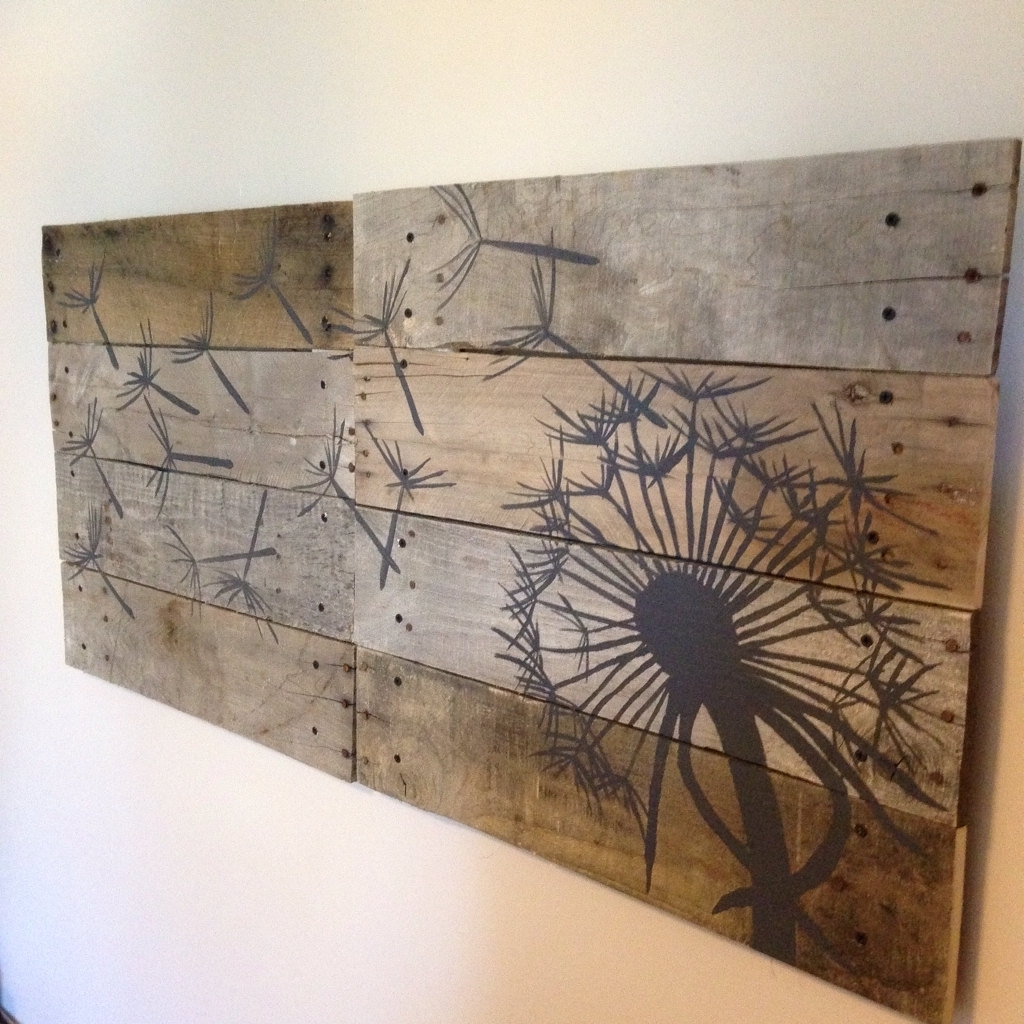 Wood Plank Wall Hanging Large Wood Plank Wall Art Andrews Living Intended For Current Plank Wall Art (Gallery 5 of 20)