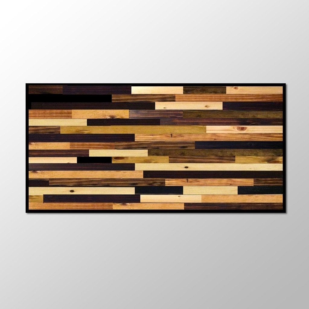 Wood Plank Wall Hanging Wood Plank Wall Art – Wall Art Ideas Regarding Most Recent Plank Wall Art (View 6 of 20)