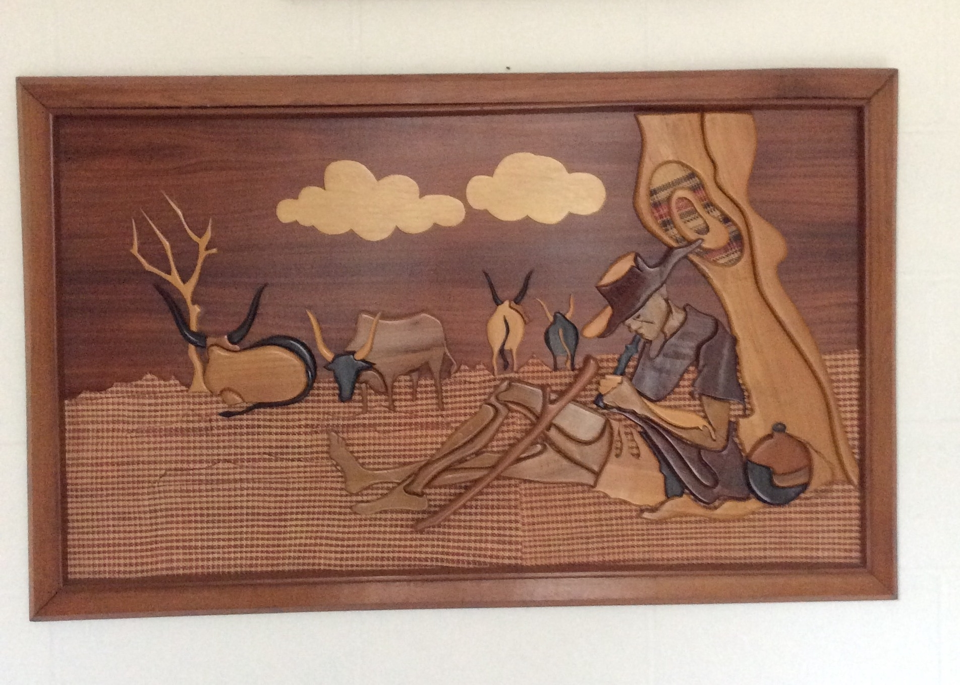 Wooden African Wall Art – Kazeem The Tomb Raider In Well Known African Wall Art (View 15 of 15)
