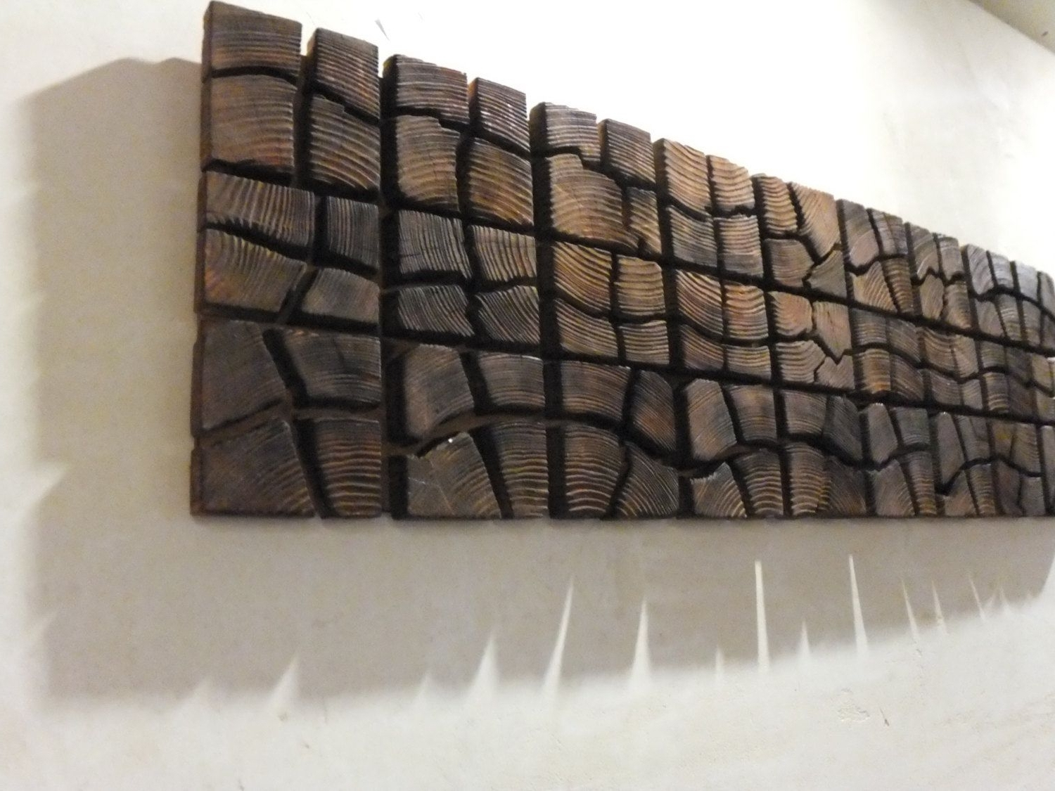 """Wooden Wall Art In Most Recent Wooden Artwork For Walls Unique Wooden Wall Art – 40"""" X 12"""" X  (View 14 of 15)"""