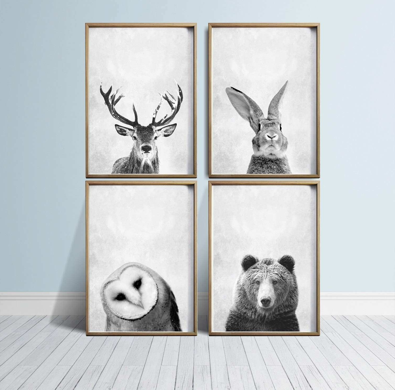 Woodland Nursery Wall Art With Regard To Most Recent Unique Wall Art Prints Luxury Nursery Wall Art Animal Print Art (View 18 of 20)