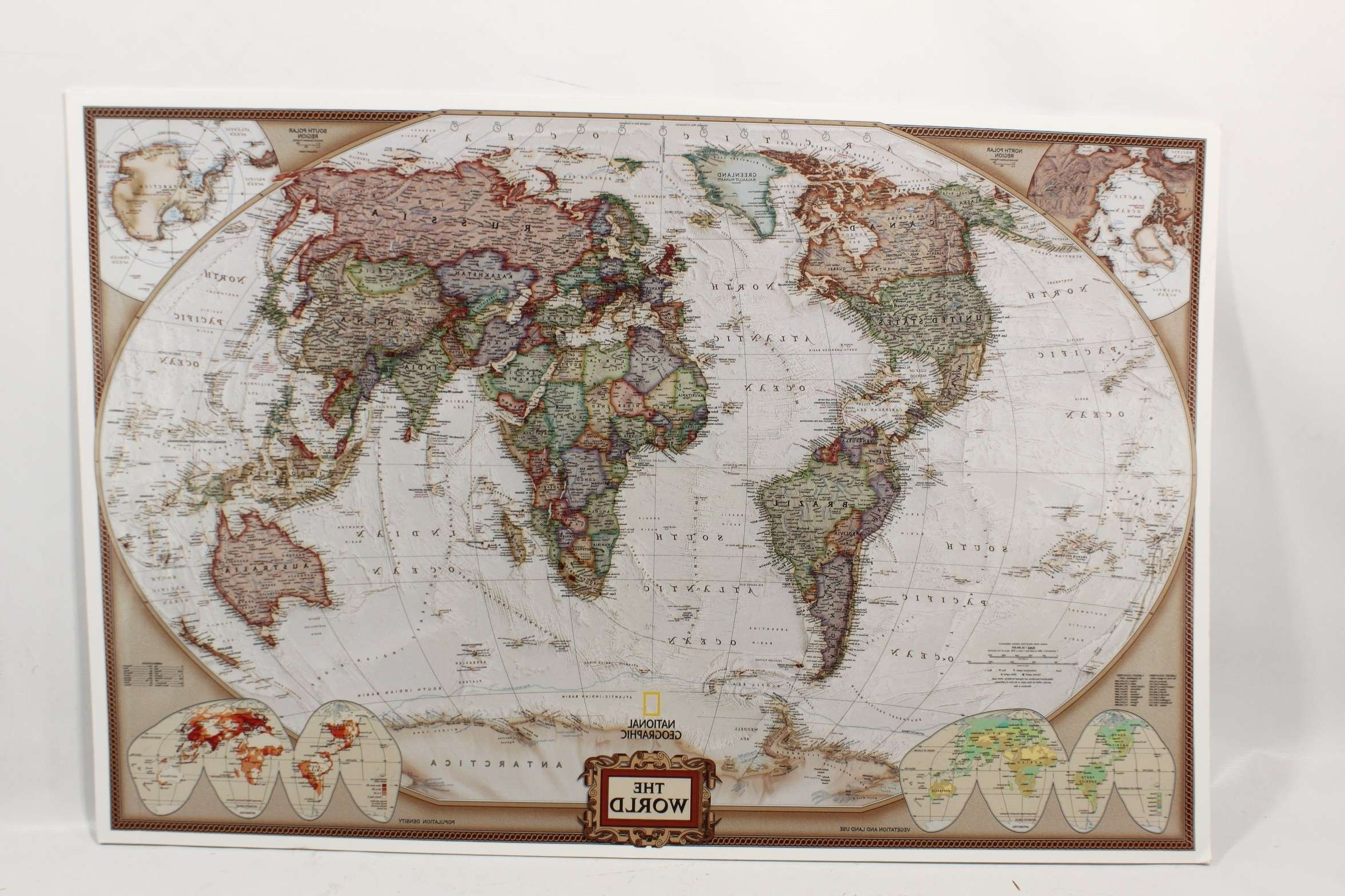 World Map For Wall Art Lovely Framed Besttabletfor Throughout With Regard To Most Popular World Map Wall Art Framed (Gallery 11 of 20)