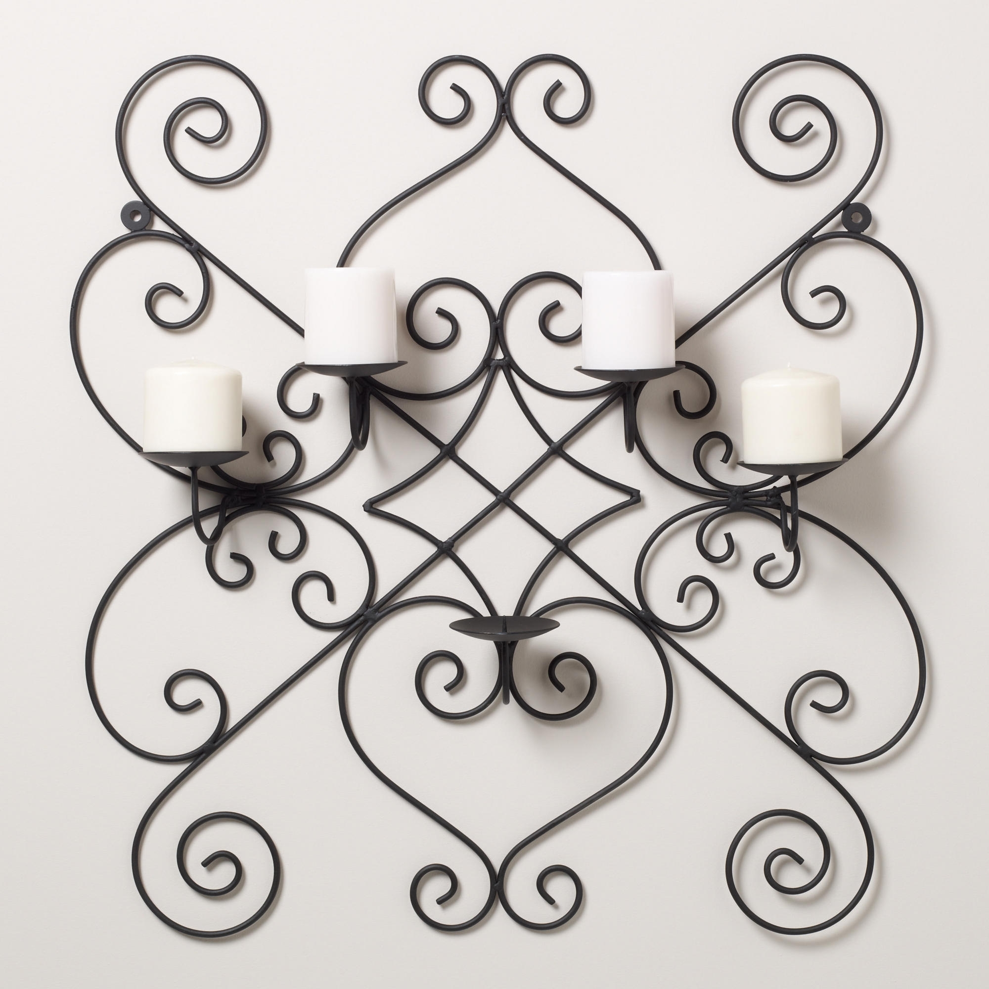 Wrought Iron Wall Art Throughout Favorite Benefit Of Wrought Iron Wall Decor — Charter Home Ideas (View 14 of 15)