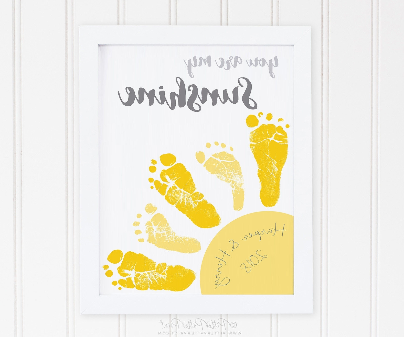 You Are My Sunshine Wall Art Pertaining To Famous Pretty Twin Nursery Wall Art Ideas The Wall Art Decorations (View 13 of 15)