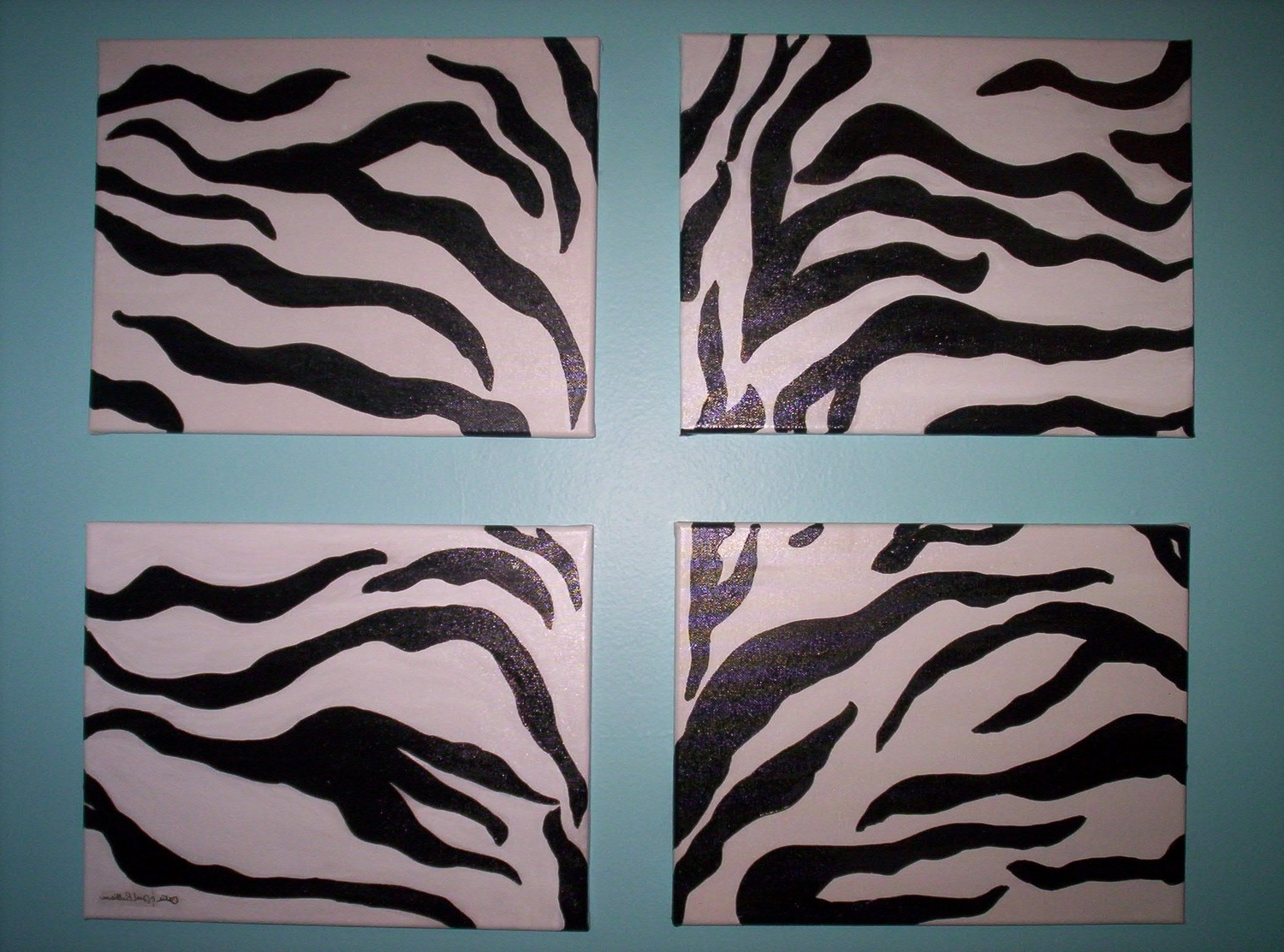 Zebra Canvas Wall Art Intended For Most Recent Zebra Print Wall Art – Prix Dalle Beton (View 15 of 20)