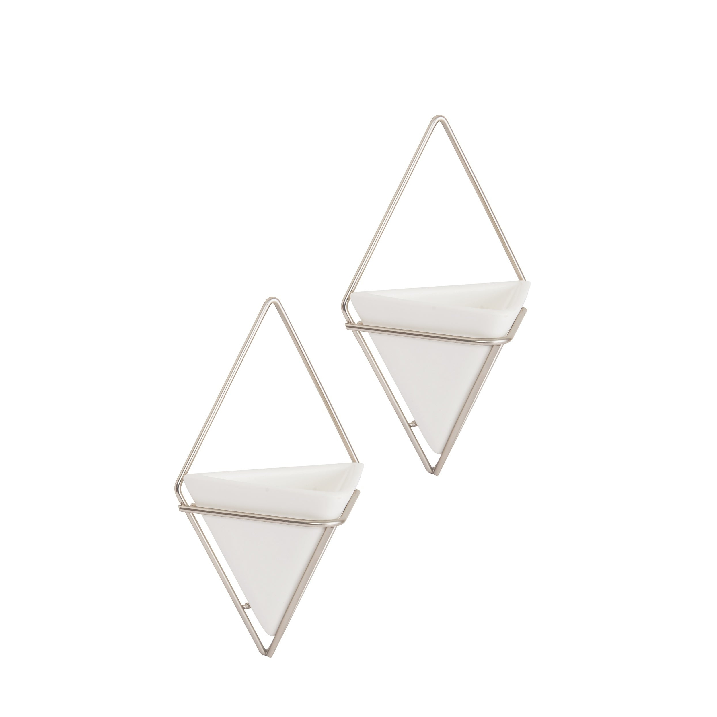 2 Piece Trigg Wall Decor Sets (Set Of 2) For Well Liked Shop Umbra Trigg Hanging Planter & Wall Decor (Set Of 2) – Free (Gallery 16 of 20)
