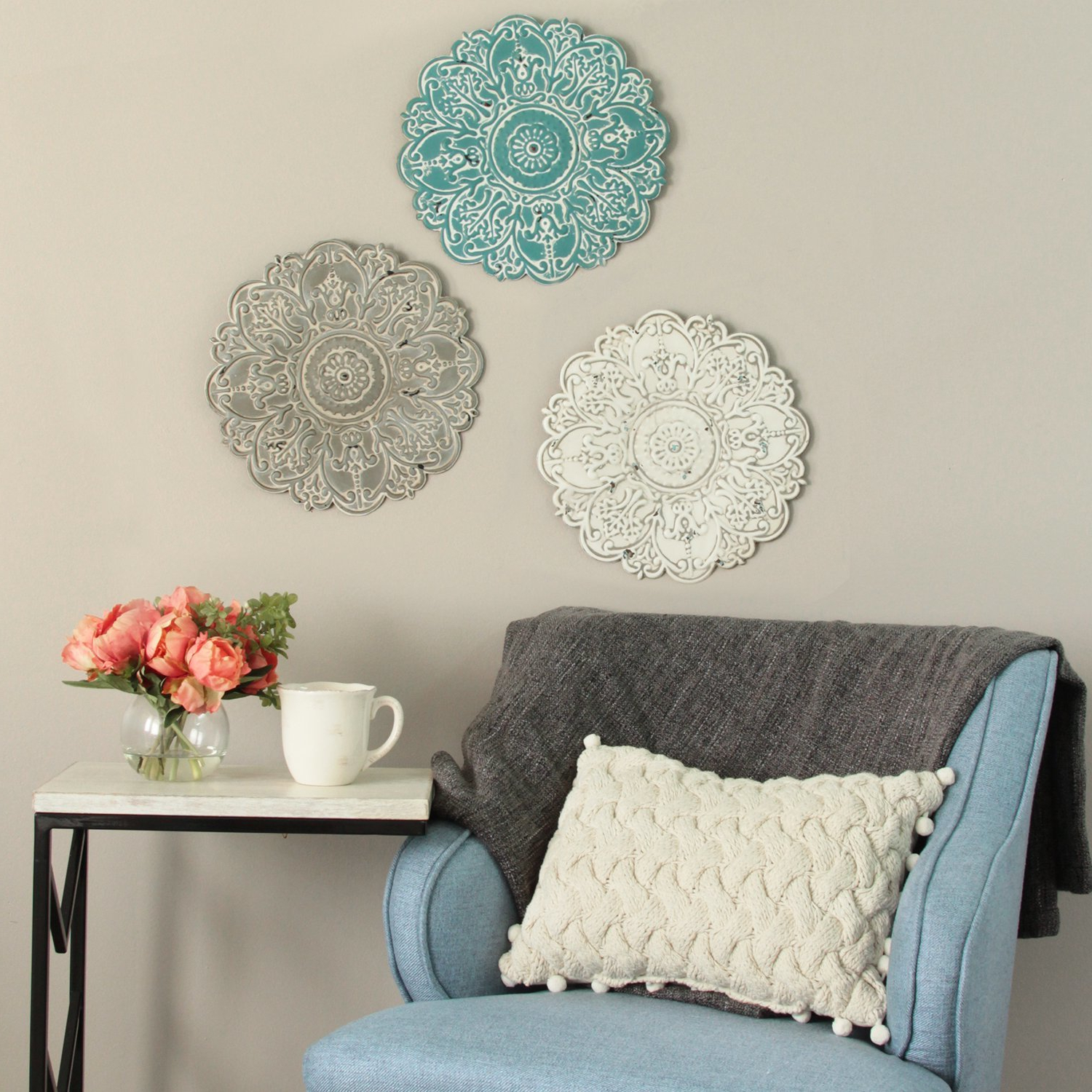 2019 Small Medallion Wall Decor With Bungalow Rose Small Medallion Wall Décor & Reviews (View 1 of 20)
