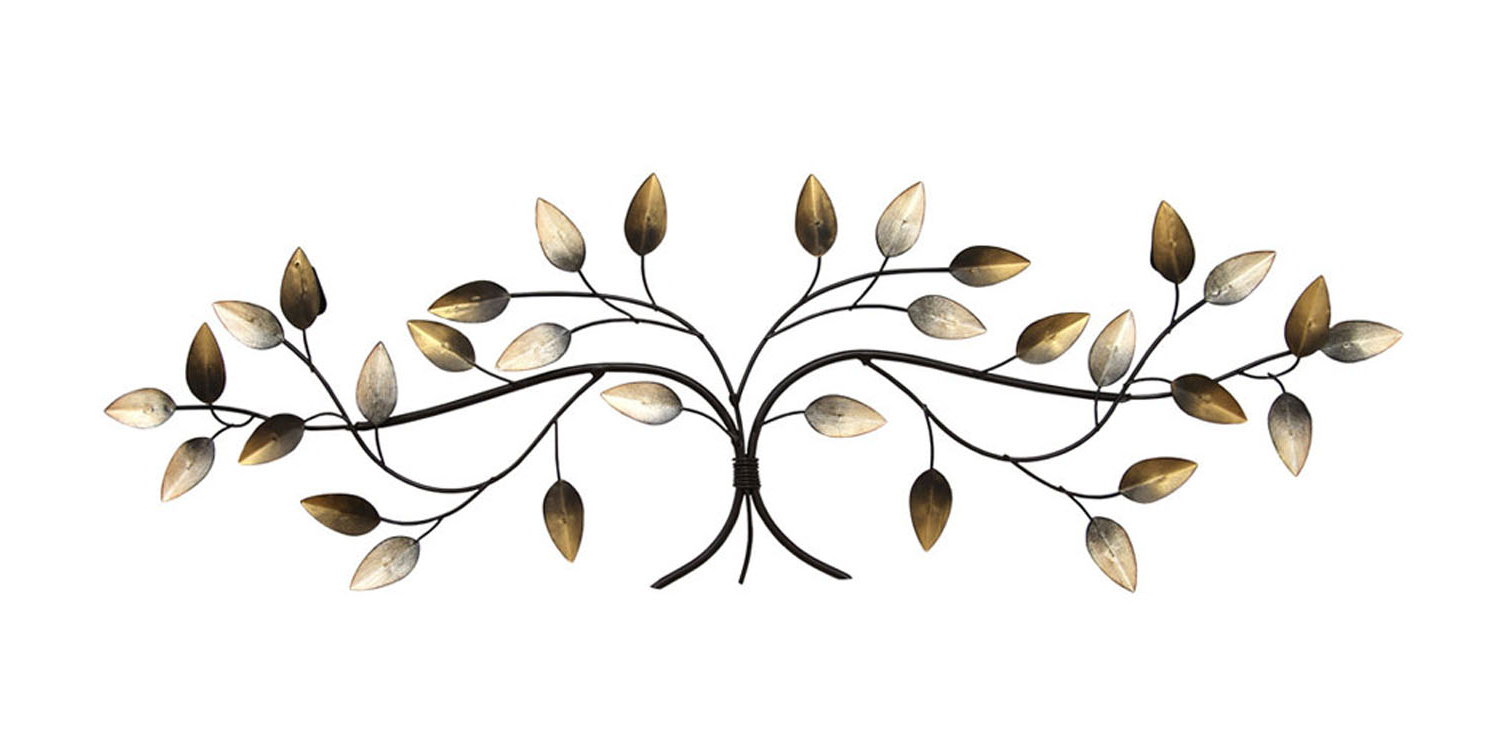2020 Blowing Leaves Wall Decor Throughout Clickhere2Shop: Stratton Home Decor Over The Door Blowing Leaves (View 1 of 20)