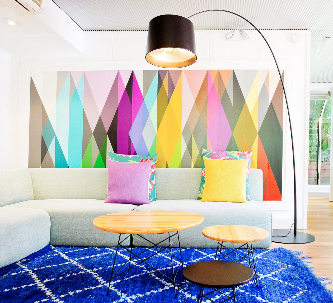 25 Dazzling Geometric Walls For The Modern Home – Freshome Within Preferred Contemporary Geometric Wall Decor (View 9 of 20)