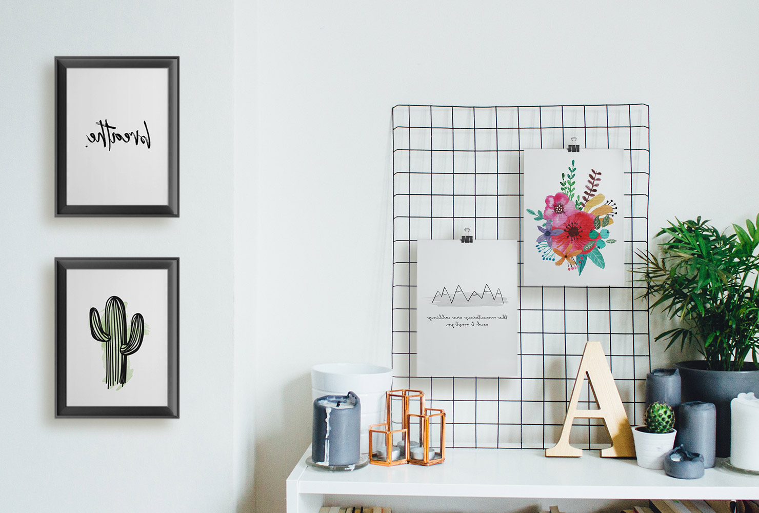 25 Unique Diy Wall Art Ideas (With Printables) (Gallery 15 of 20)