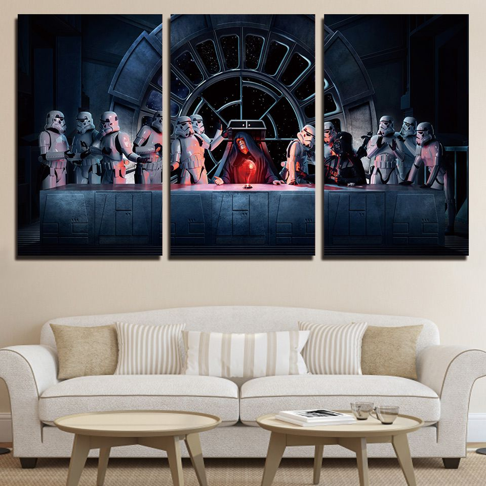 Featured Photo of 3 Piece Star Wall Decor Sets