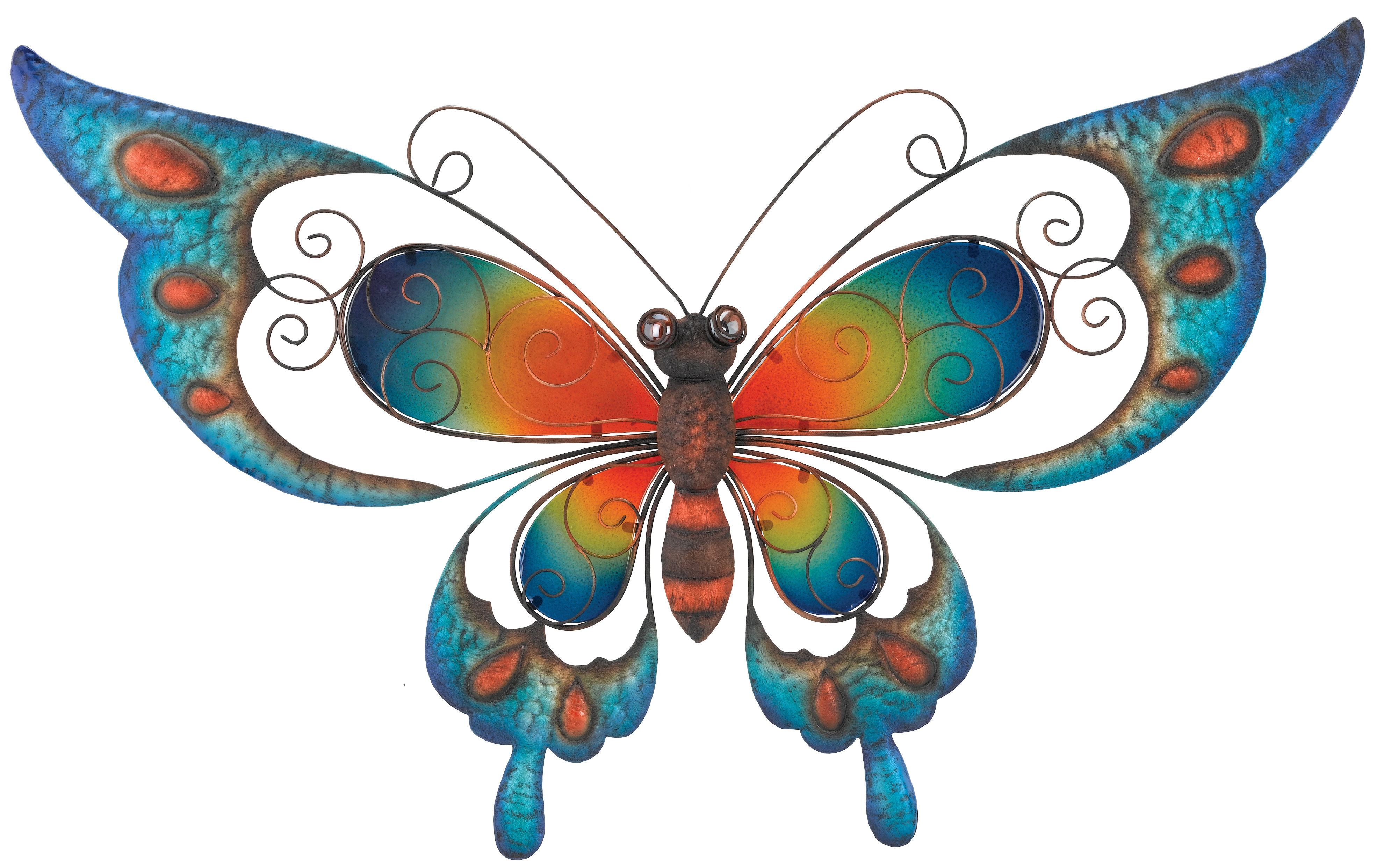3 Piece Capri Butterfly Wall Decor Sets With Regard To Most Recently Released Regal Art & Gift Butterfly Wall Décor & Reviews (View 1 of 20)