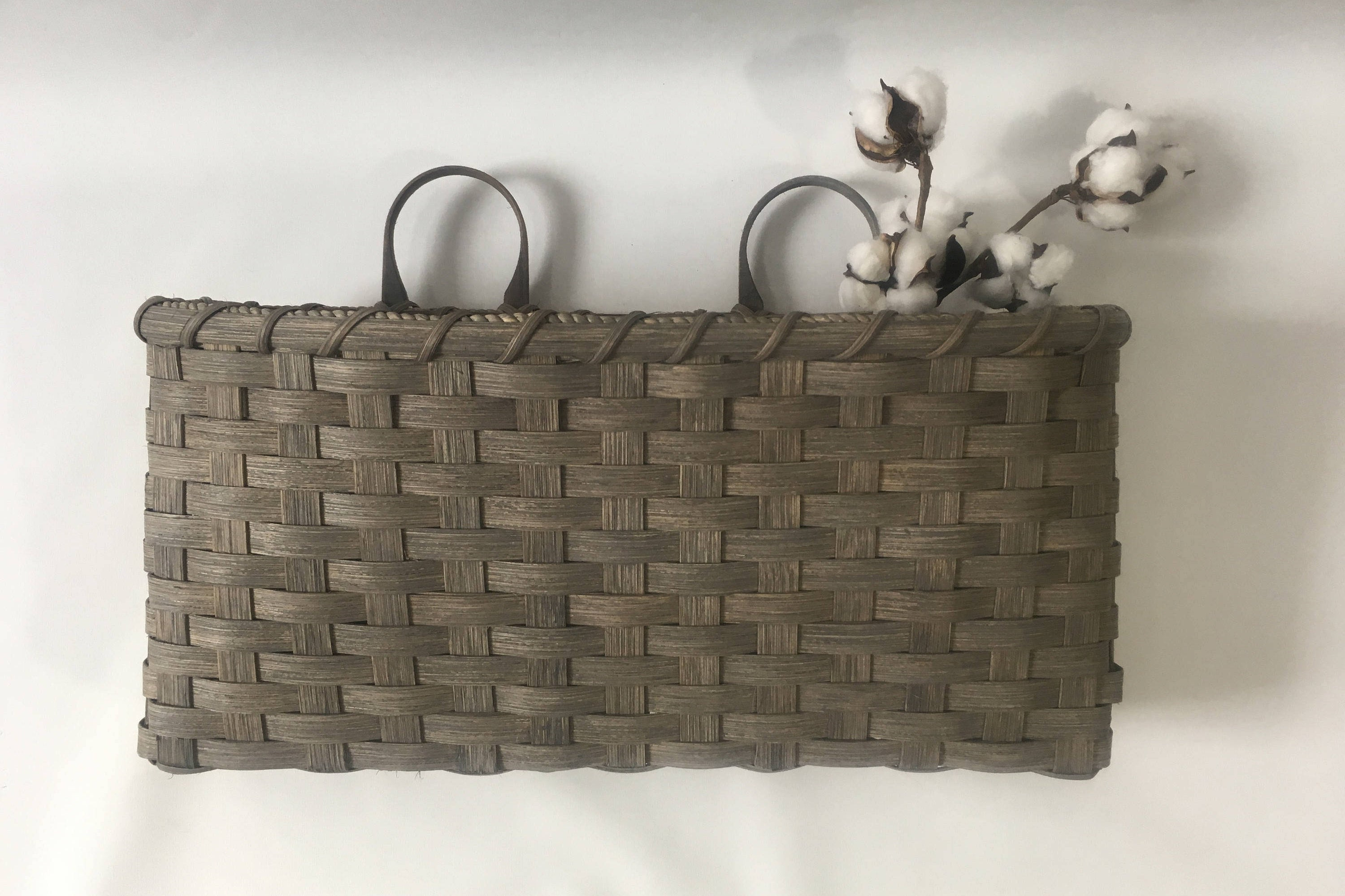 4 Piece Handwoven Wheel Wall Decor Sets With Most Recent Large Wall Basket Wall Decor Handwoven Basket (View 10 of 20)