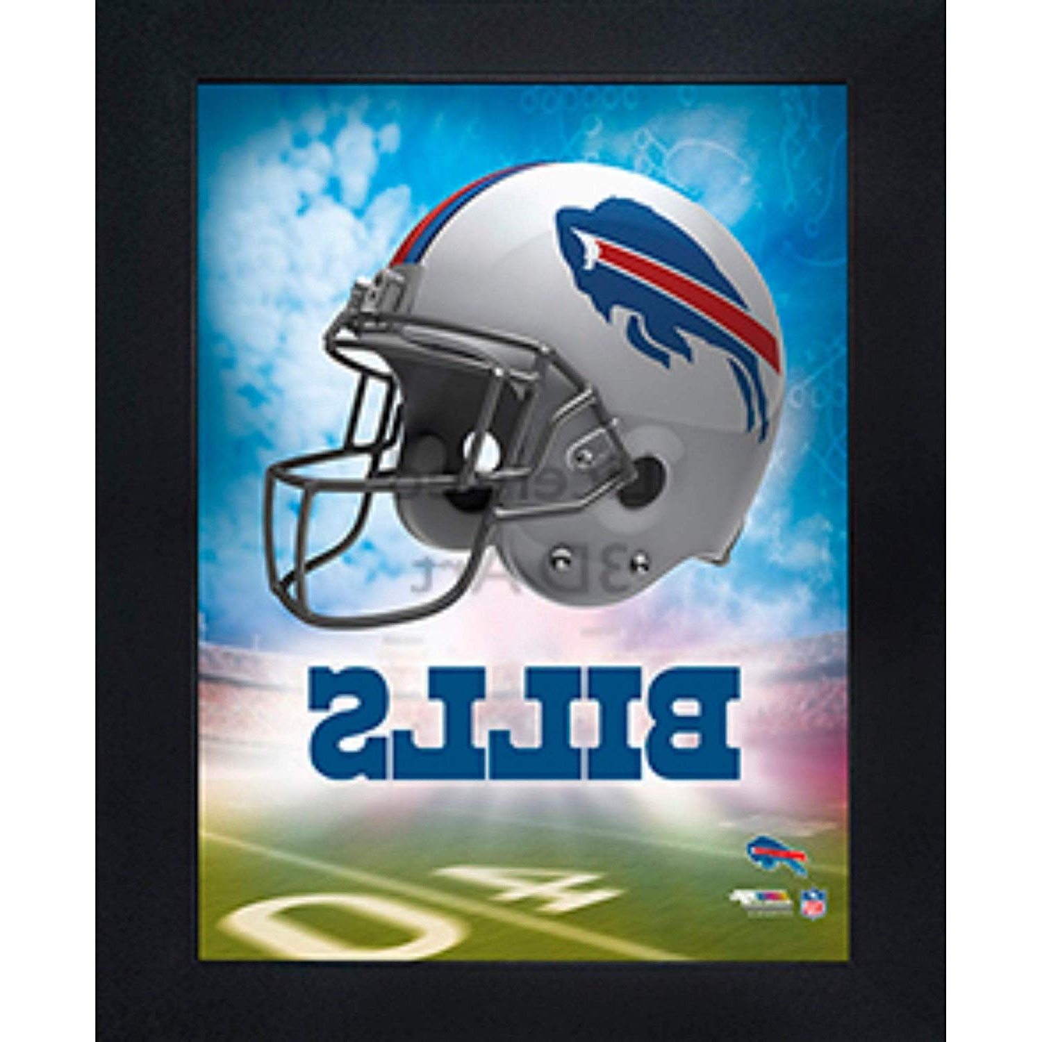 Amazon: Buffalo Bills 3D Poster Wall Art Decor Framed (View 19 of 20)
