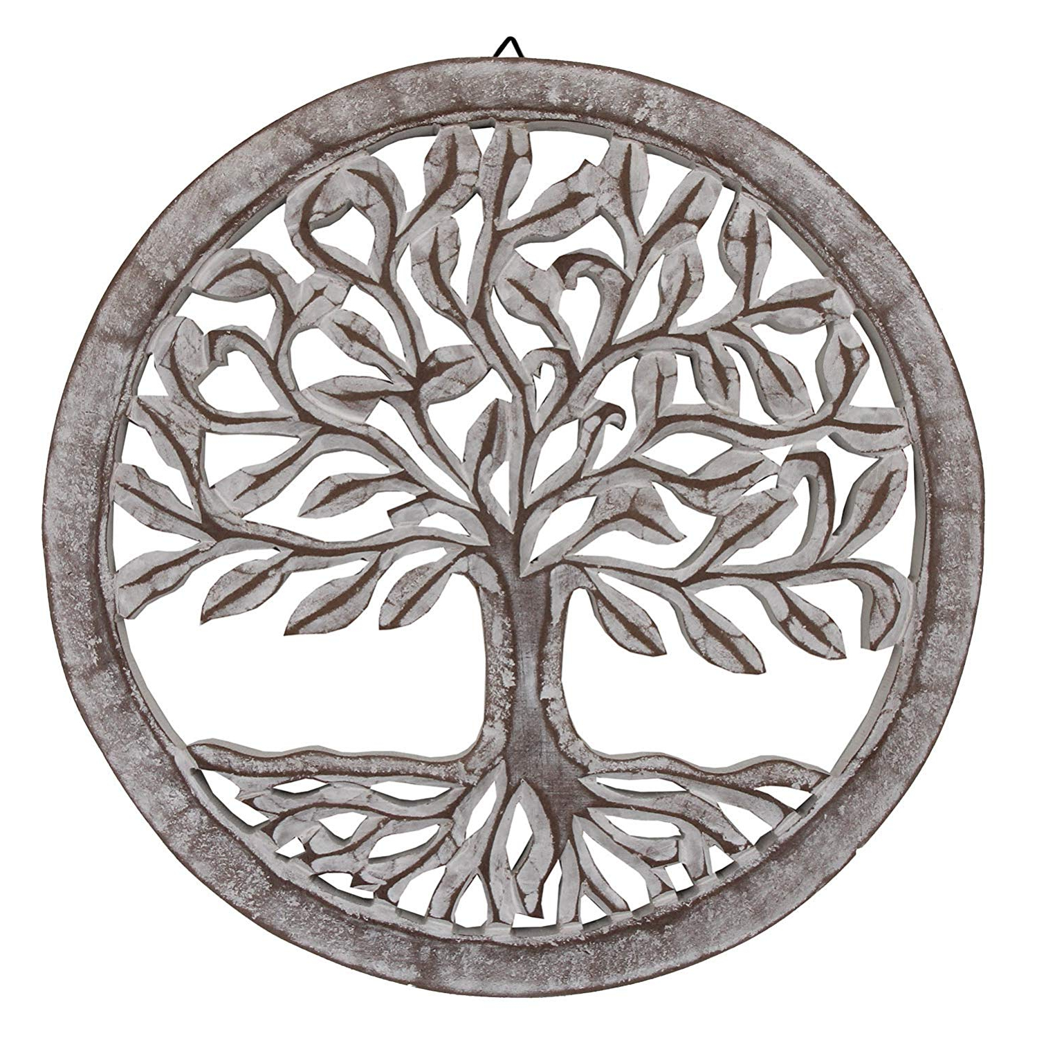 Amazon: Dharmaobjects Handcrafted Wooden Tree Life Wall Decor Inside Well Known Tree Of Life Wall Decor (Gallery 4 of 20)