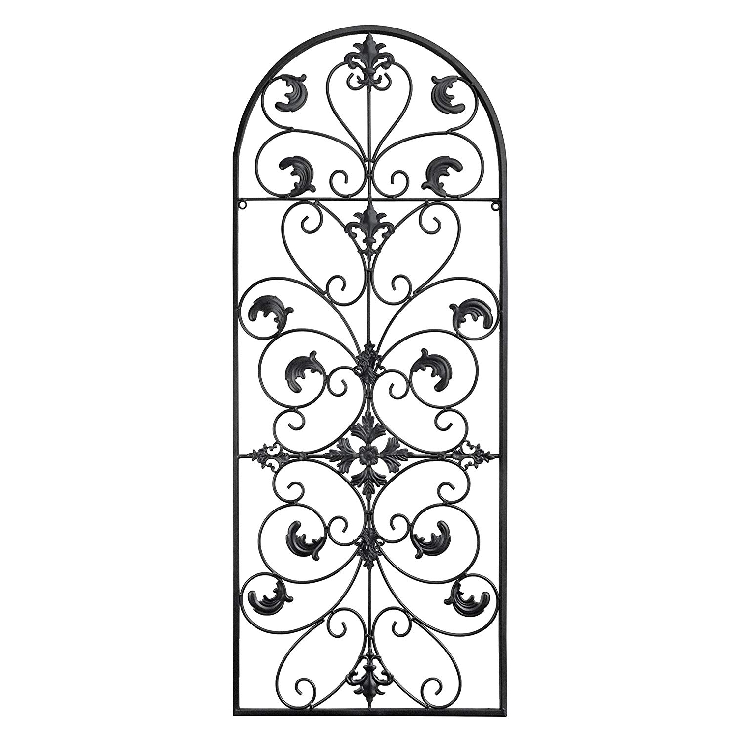 Amazon: Gb Home Collection Gbhome Gh 6777 Metal Wall Decor Pertaining To Preferred Ornamental Wood And Metal Scroll Wall Decor (View 1 of 20)