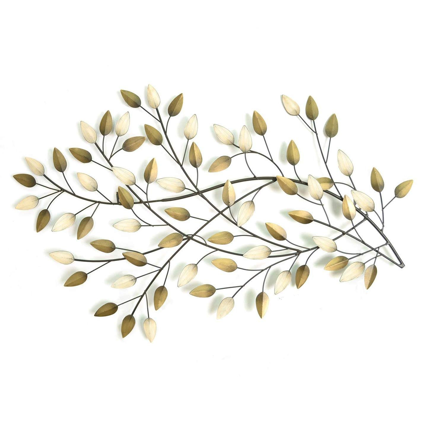 Amazon: Home Decor Stratton Shd0062 Home Blowing Leaves Wall Intended For Widely Used Blowing Leaves Wall Decor (View 13 of 20)