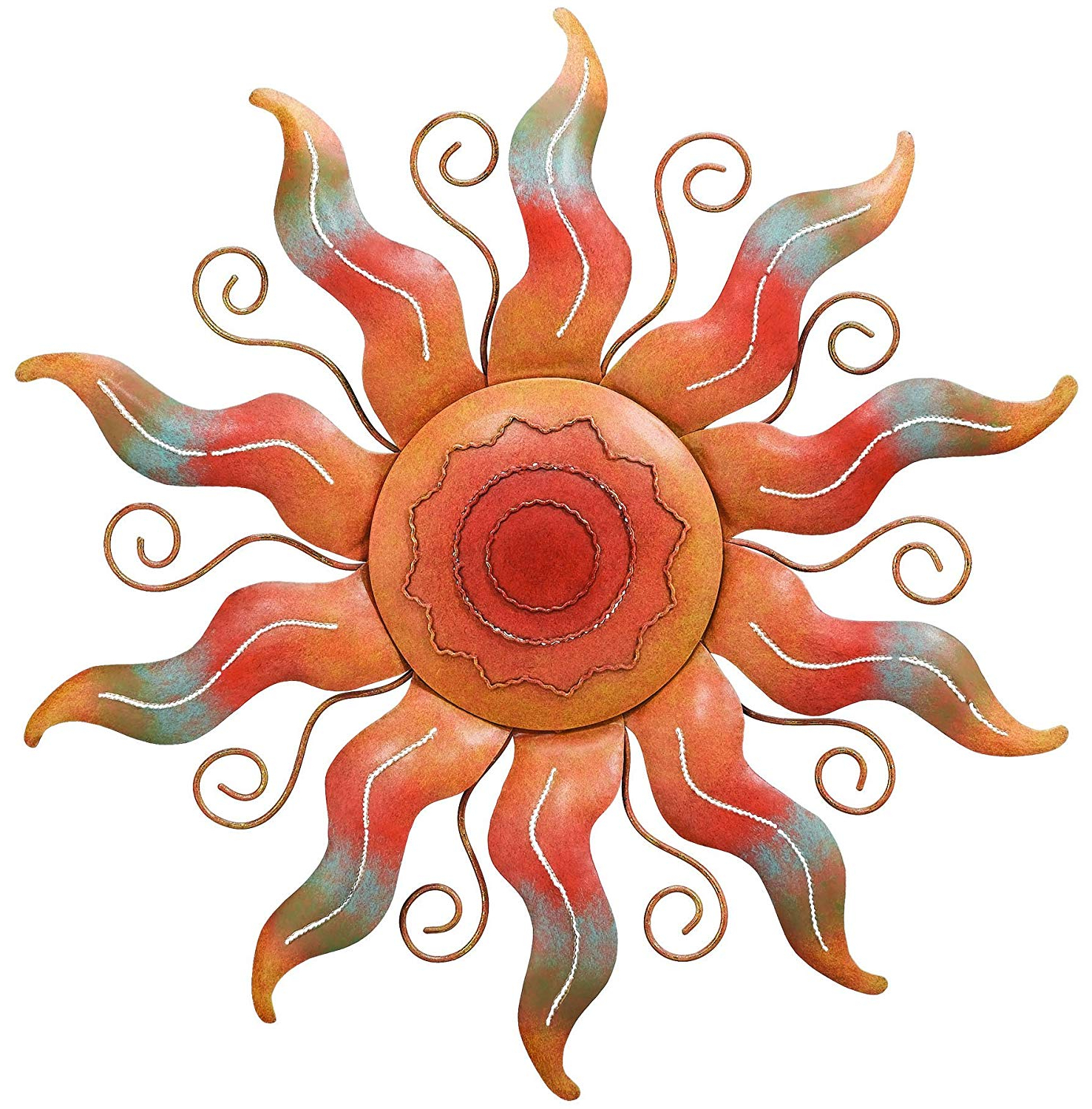 Amazon : Regal Art &gift Sun Wall Decor : Wall Sculptures In Most Recent Aurora Sun Wall Decor (View 3 of 20)