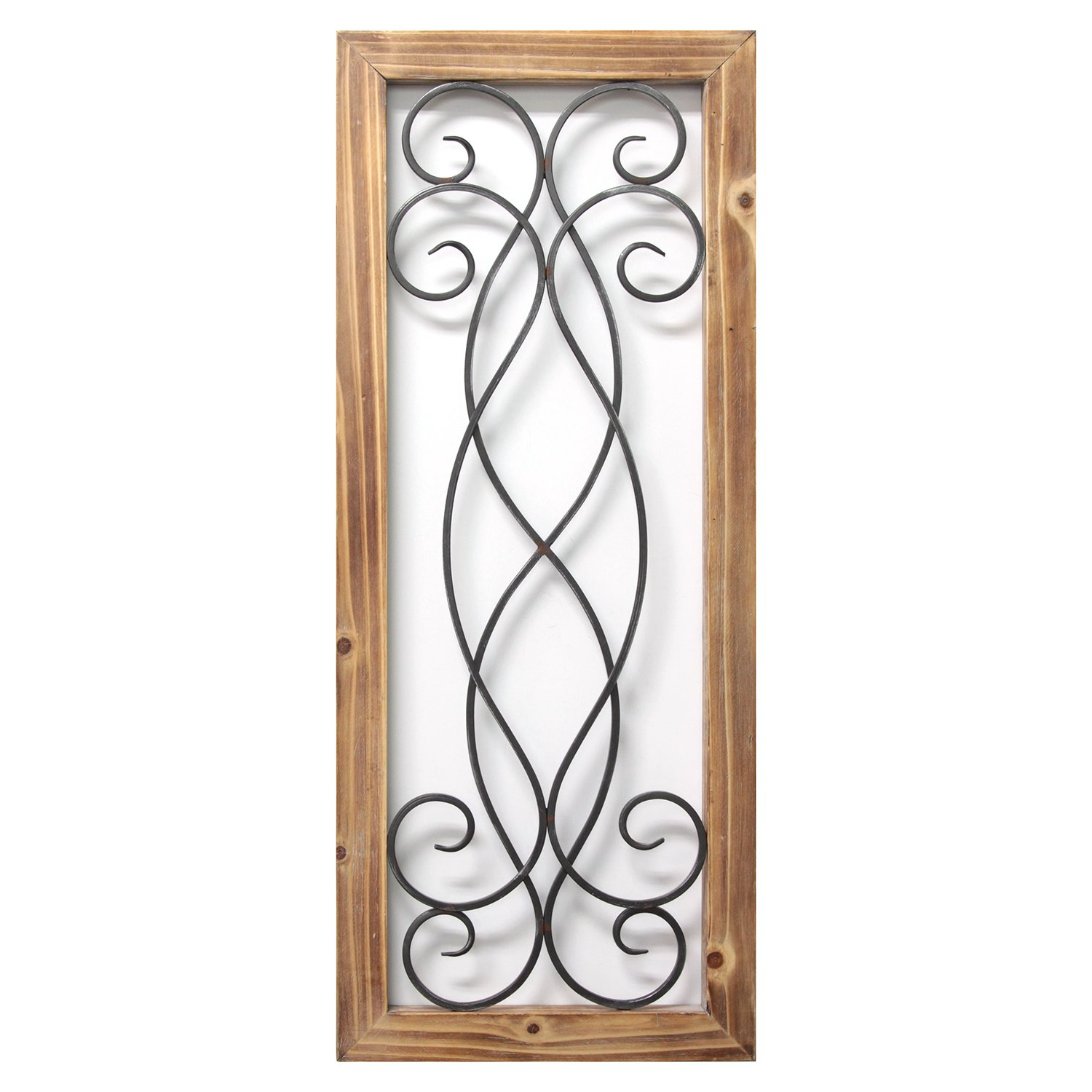 Amazon: Stratton Home Décor S11573 Scroll Panel Wall Décor (View 5 of 20)
