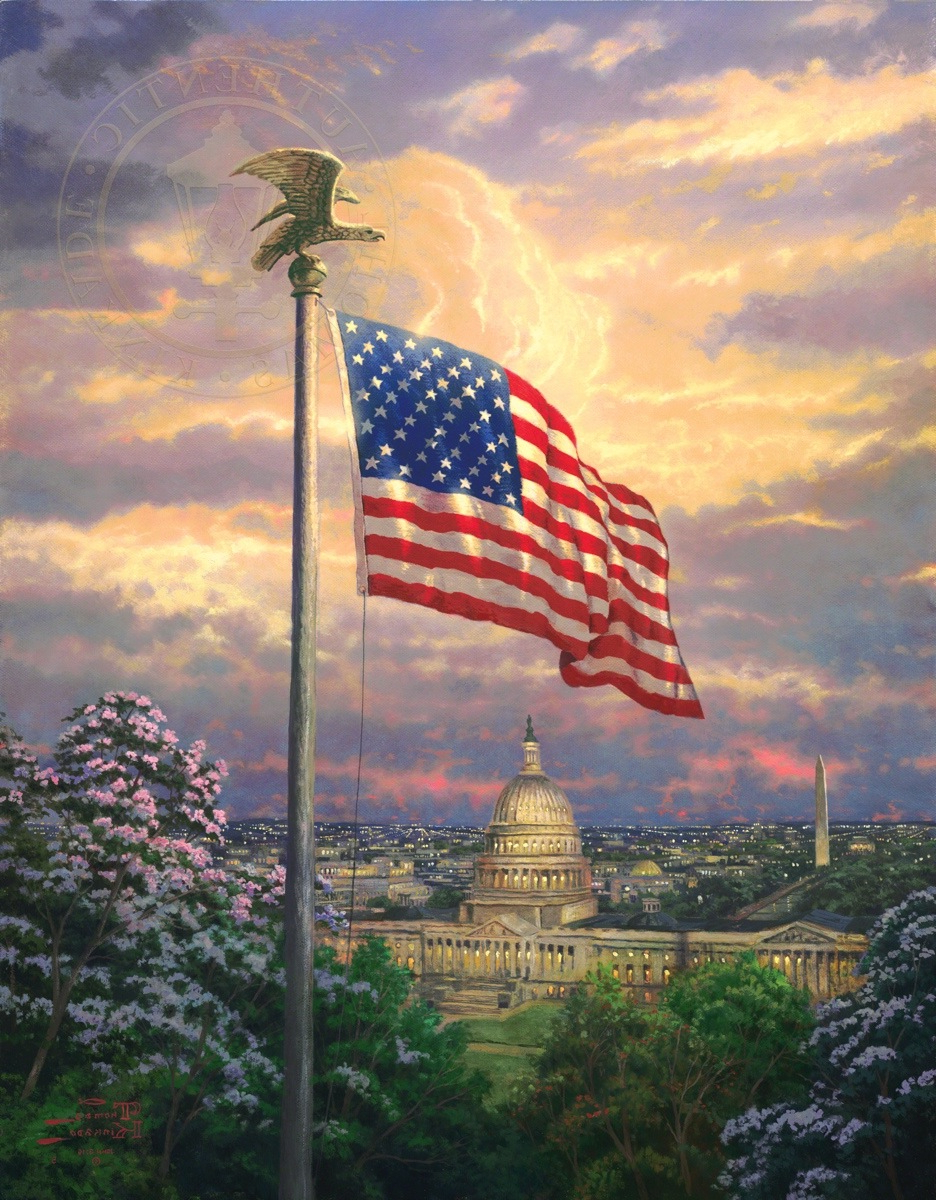 America's Pride – Limited Edition Art (View 10 of 20)
