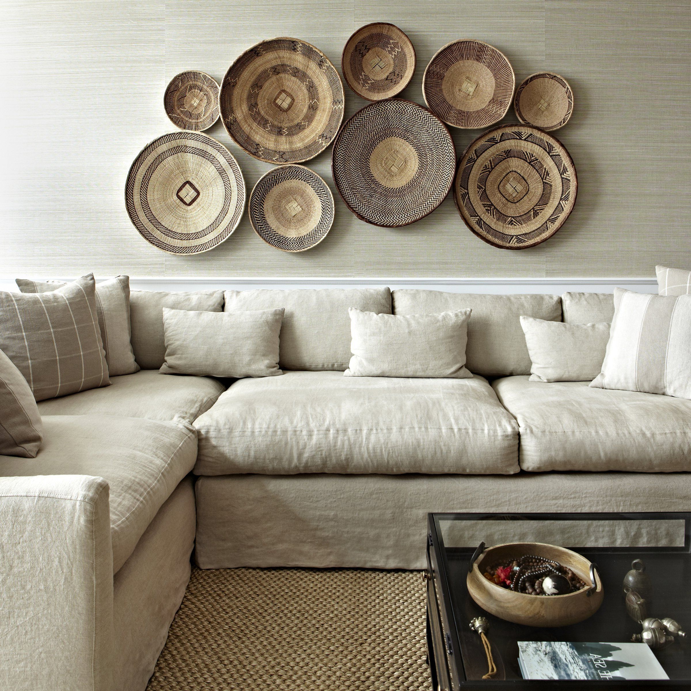 Baskets On Wall, Home (Gallery 9 of 20)