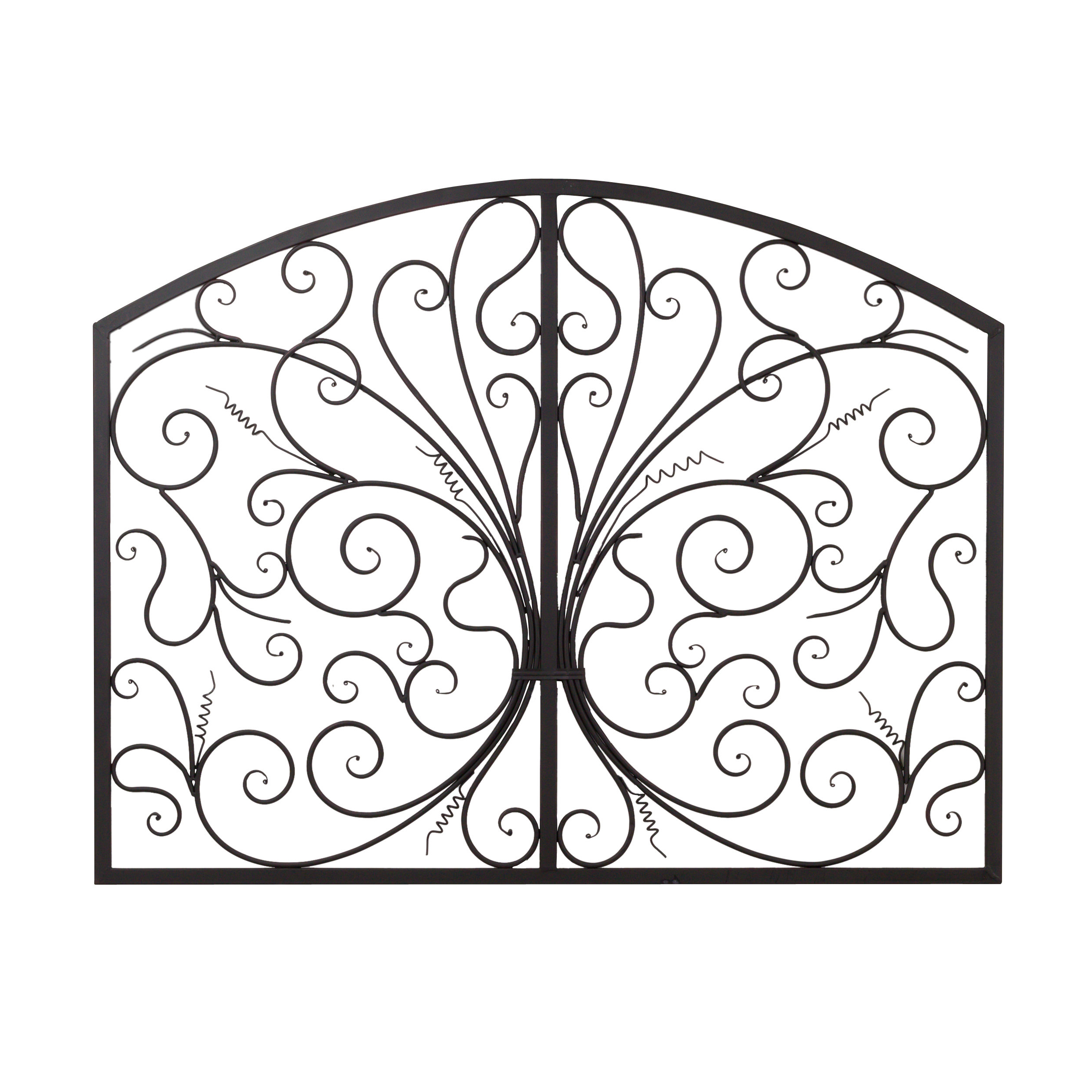 Bayaccents Metal Scroll Complex Panel Wall Decor & Reviews (View 12 of 20)
