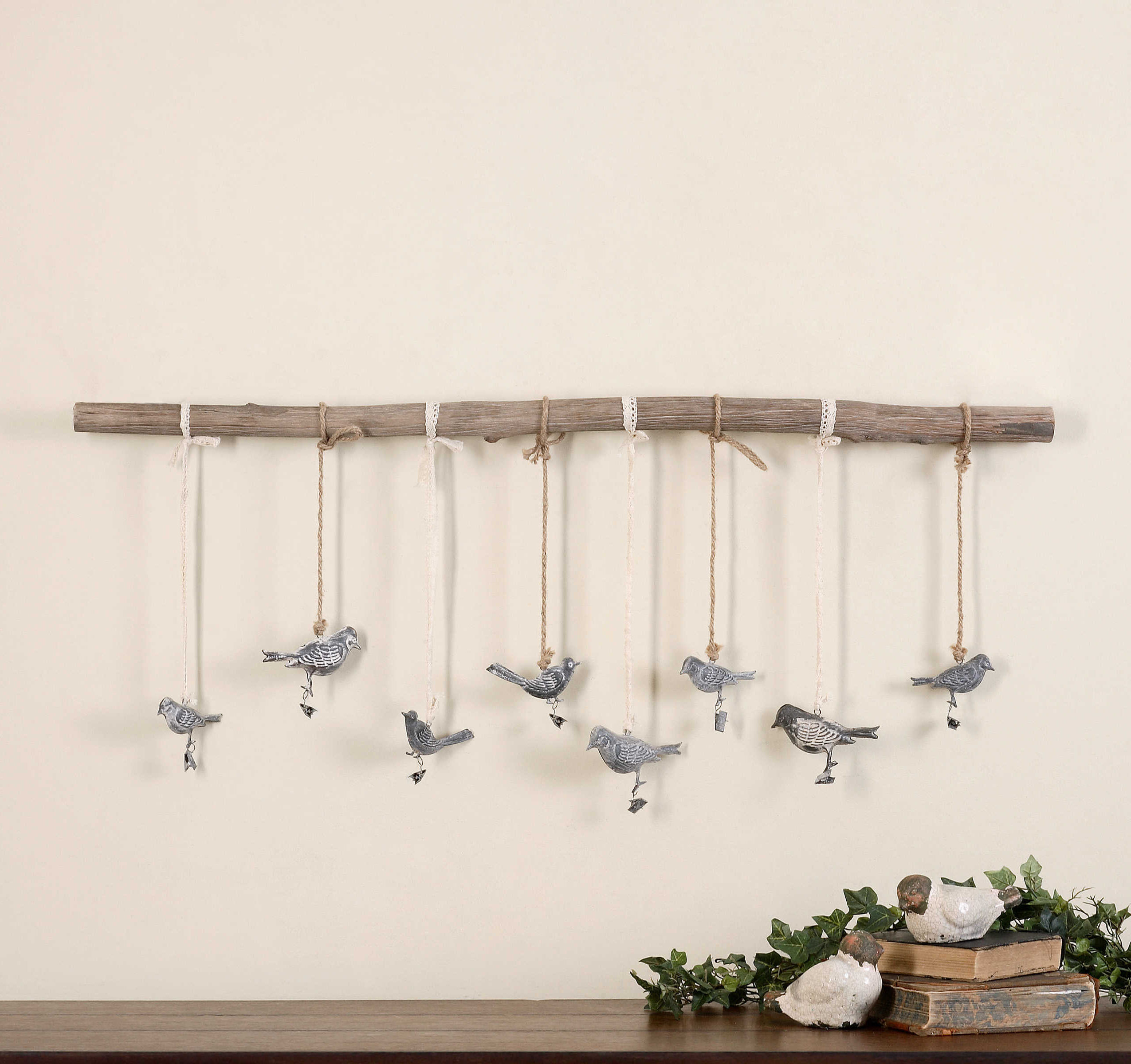 Birds On A Branch Wall Decor Intended For Famous Uttermost Birds On A Branch Wall Art (Gallery 6 of 20)