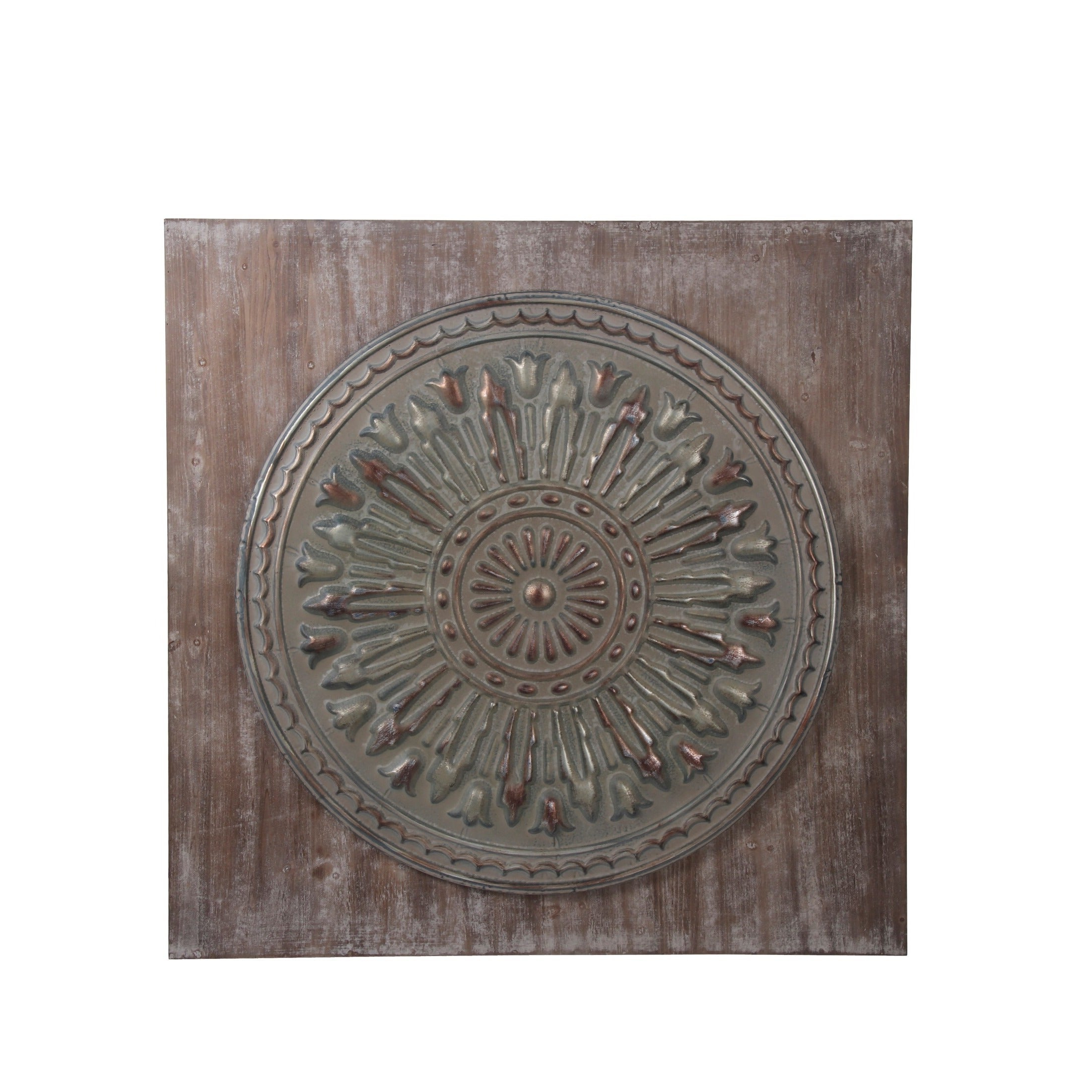 Brown Wood And Metal Wall Decor In Most Recent Shop Privilege Wood And Metal Wall Decor – On Sale – Free Shipping (View 15 of 20)