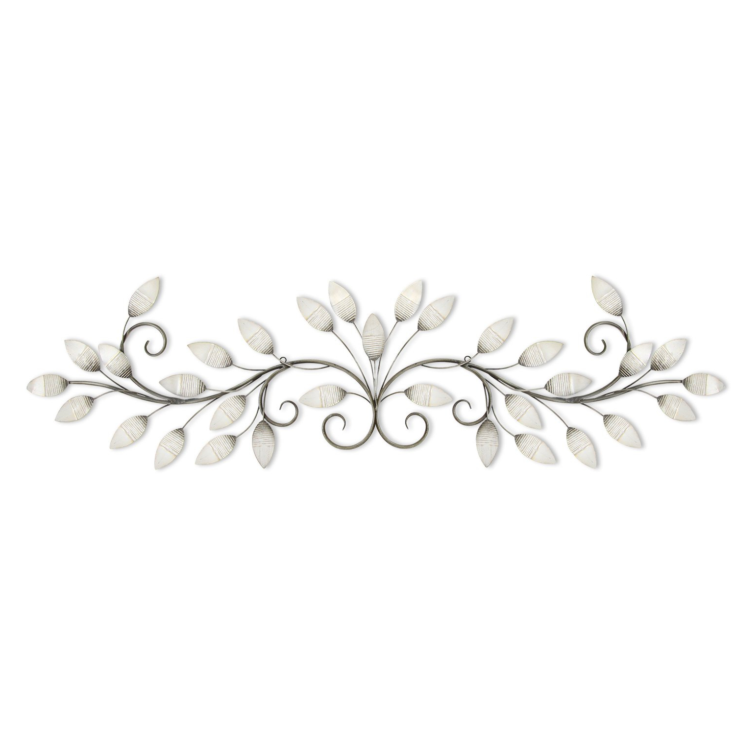 Brushed Pearl Over The Door Wall Decor Regarding Fashionable Amazon: Stratton Home Decor S07736 Brushed Pearl Over The Door (View 1 of 20)