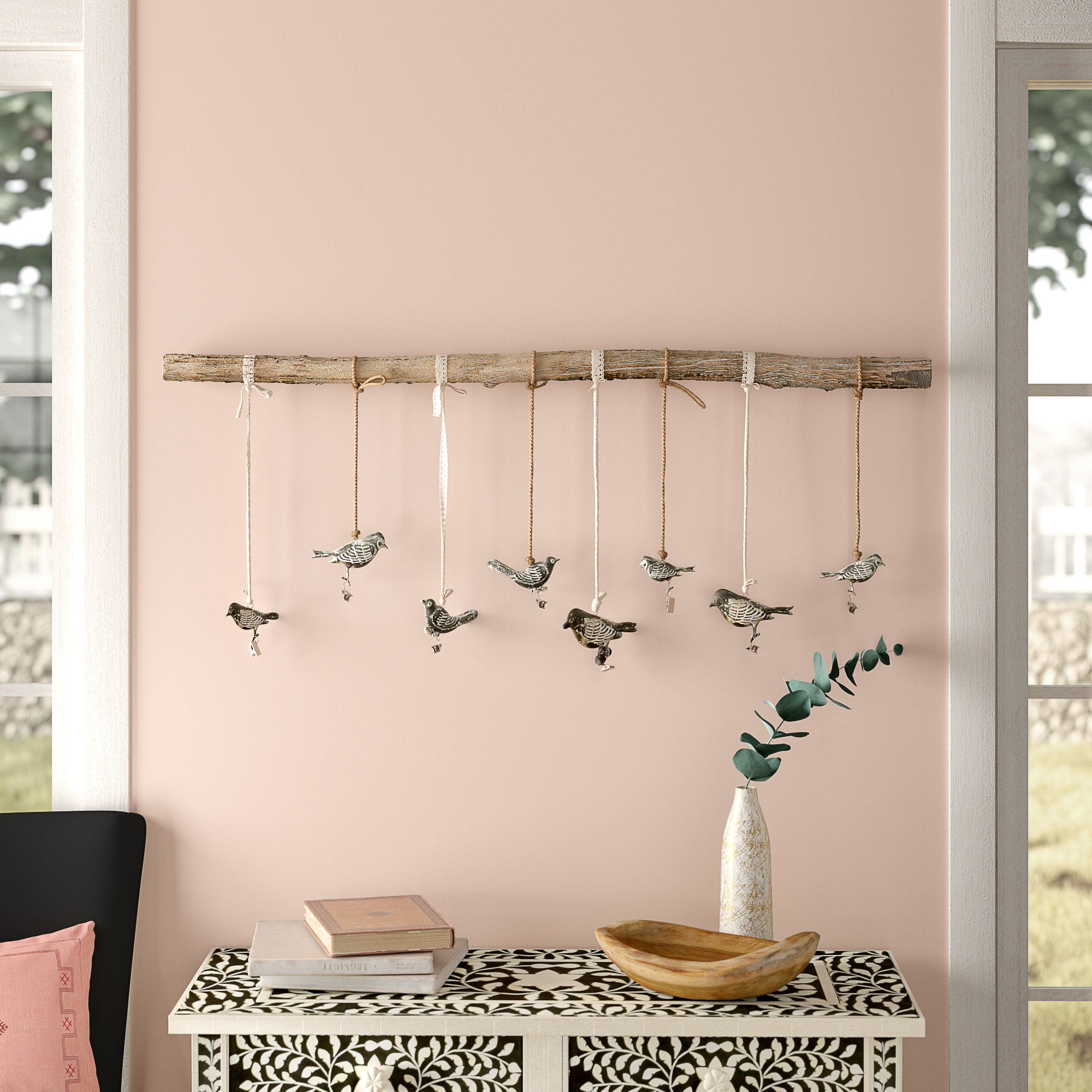 Bungalow Rose Birds On A Branch Wall Decor & Reviews (Gallery 2 of 20)
