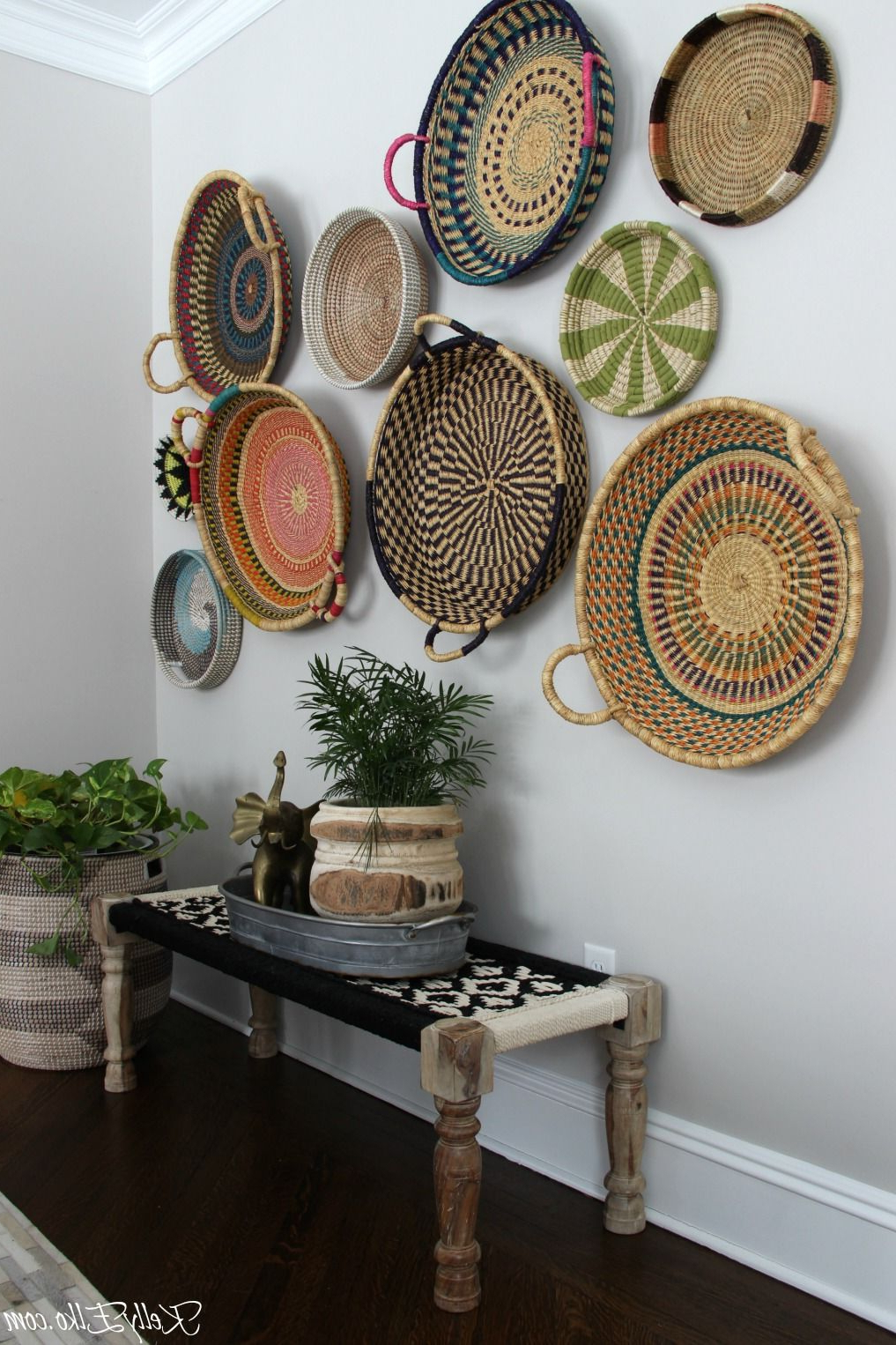 Colorful Basket Gallery Wall (Gallery 3 of 20)