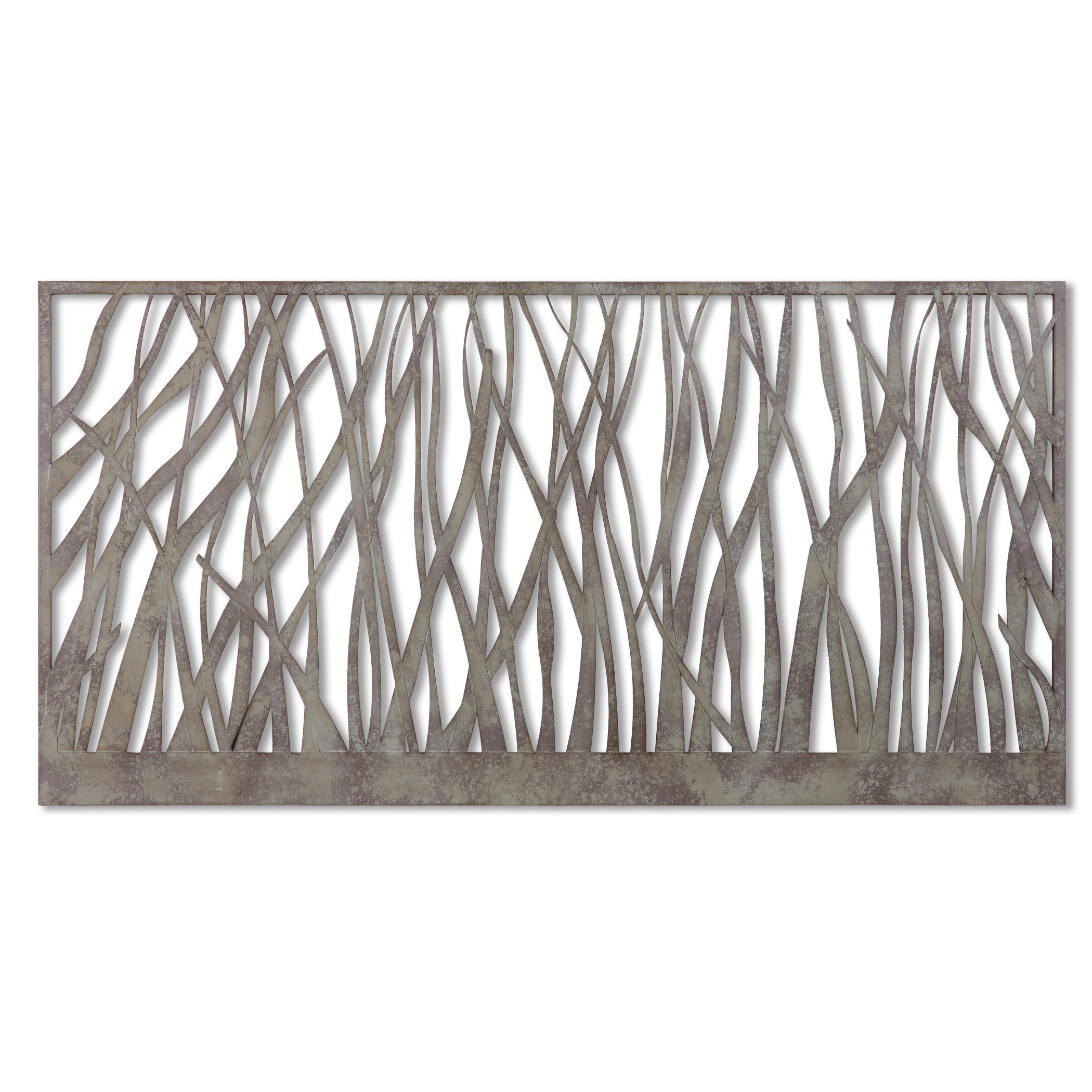 Desford Leaf Wall Decor In Most Recently Released Olive/gray Metal Wall Decor & Reviews (View 4 of 20)