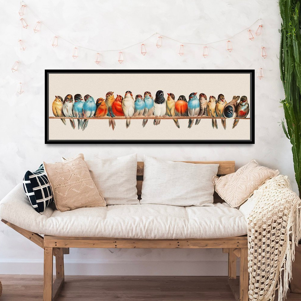 Etsy For Birds On A Wire Wall Decor (Gallery 6 of 20)