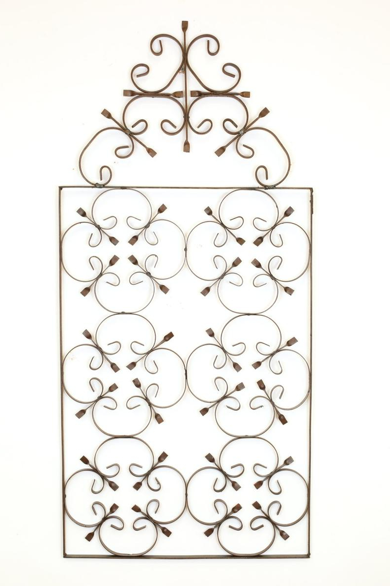 Etsy Within Belle Circular Scroll Wall Decor (Gallery 3 of 20)