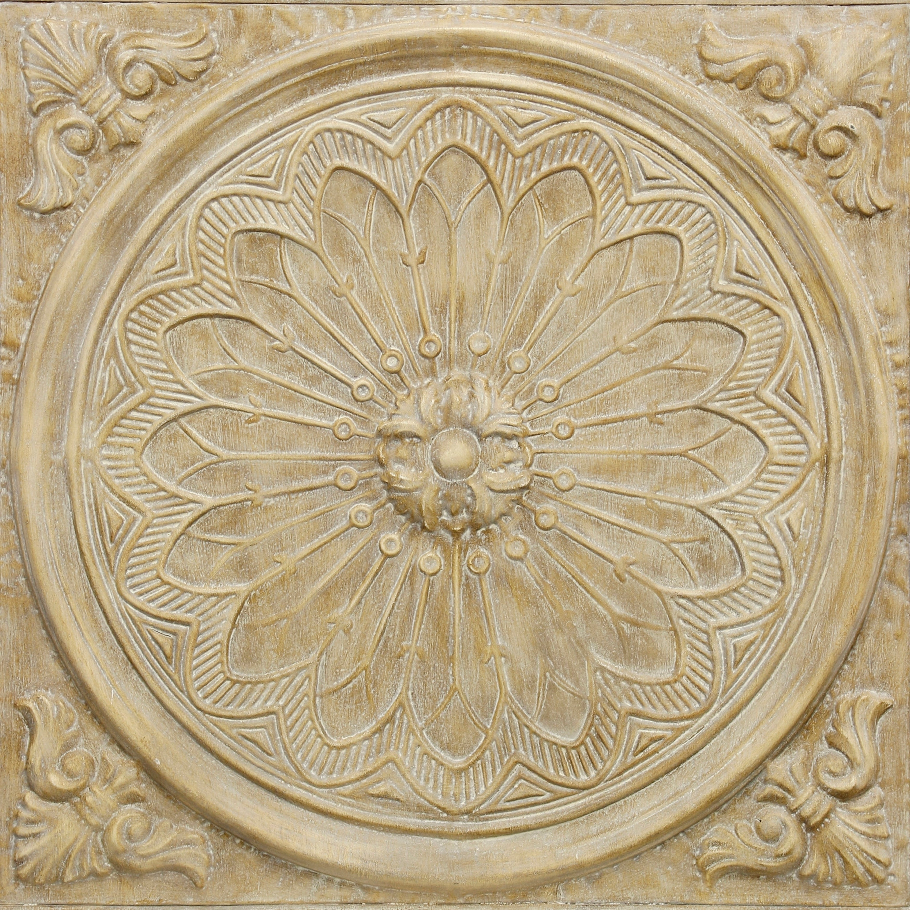 European Medallion Wall Decor Within Famous Shop Traditional Dimensional Natural Slate Medallion Wall Decor (View 13 of 20)