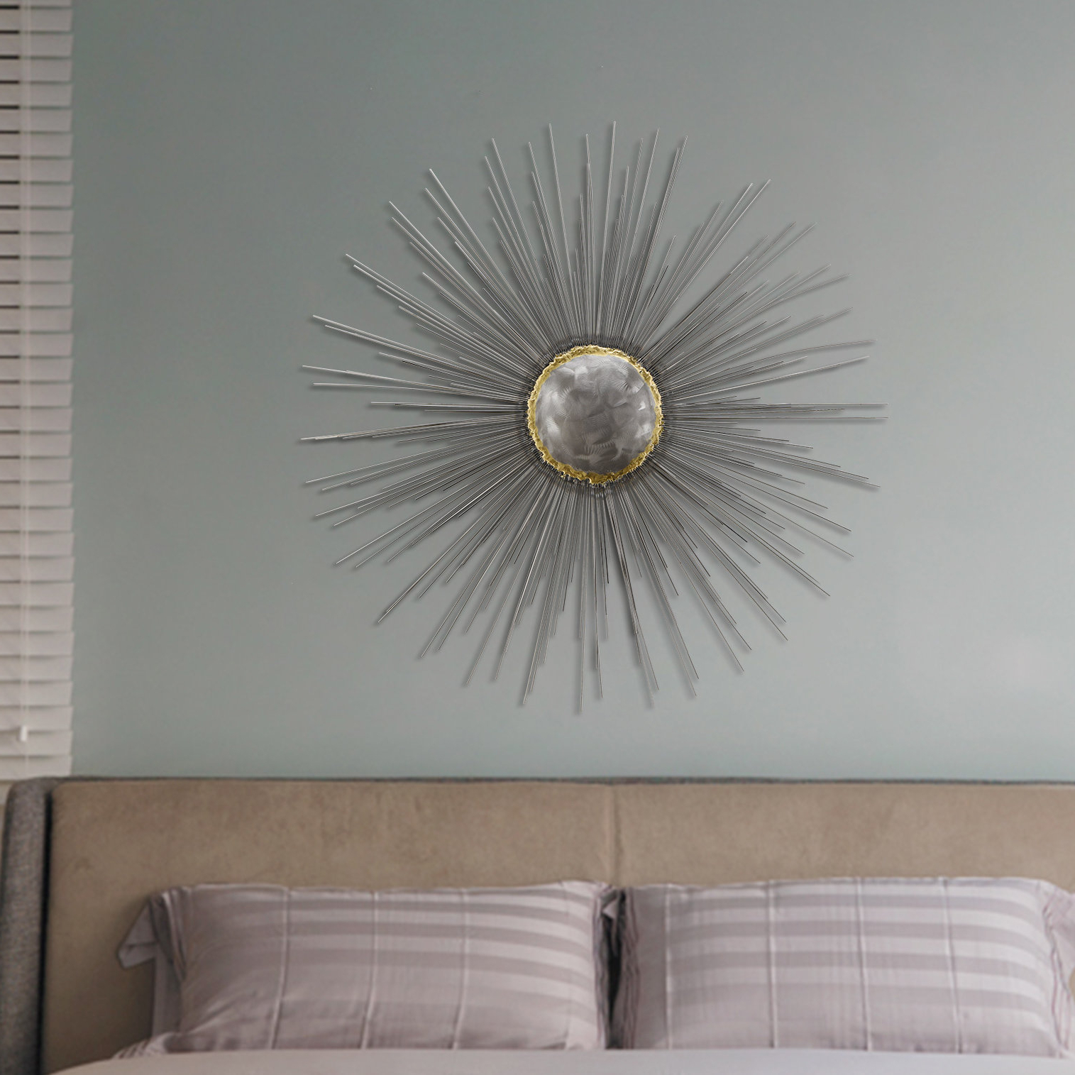 Everly Quinn Starburst Wall Décor & Reviews (View 8 of 20)
