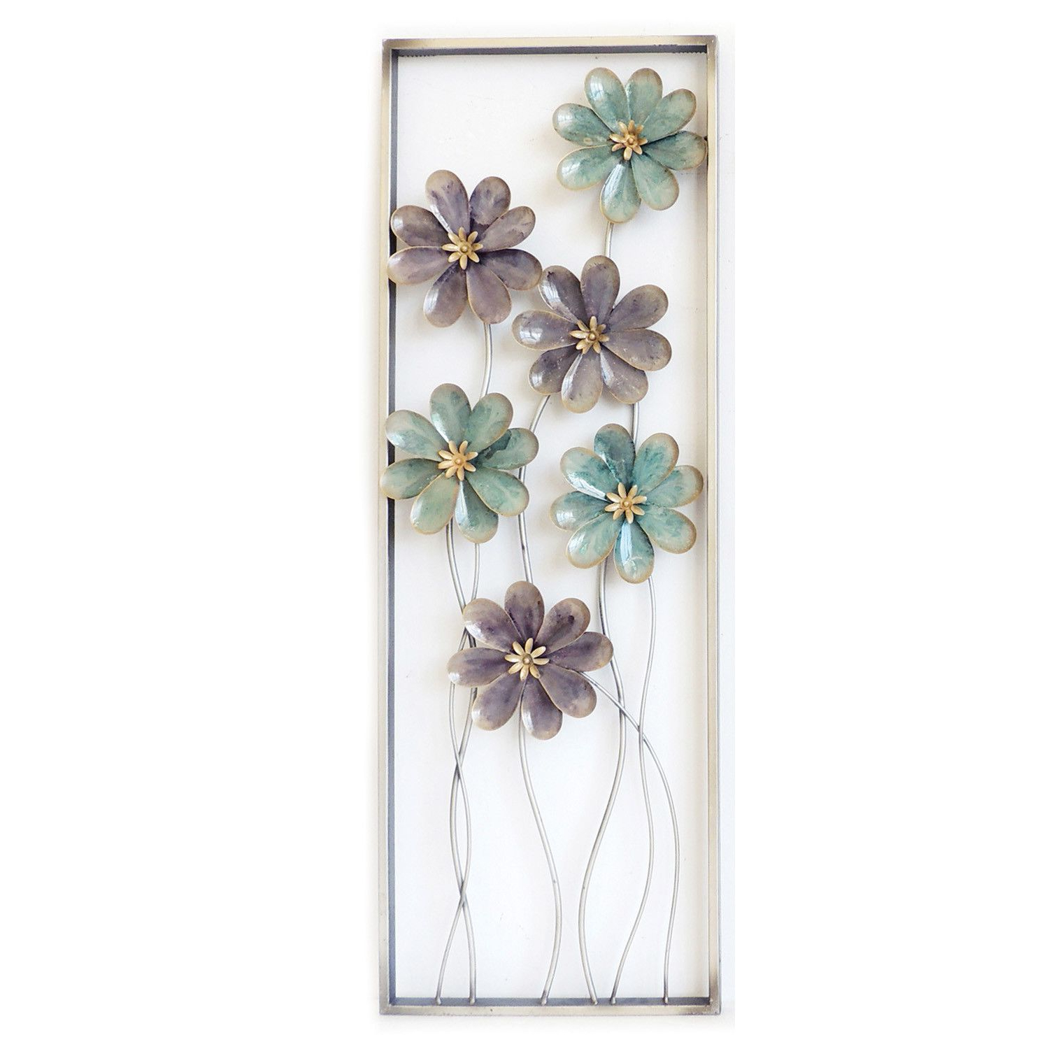 Famous 6 Flowers On Stem Wall Decor (View 8 of 20)