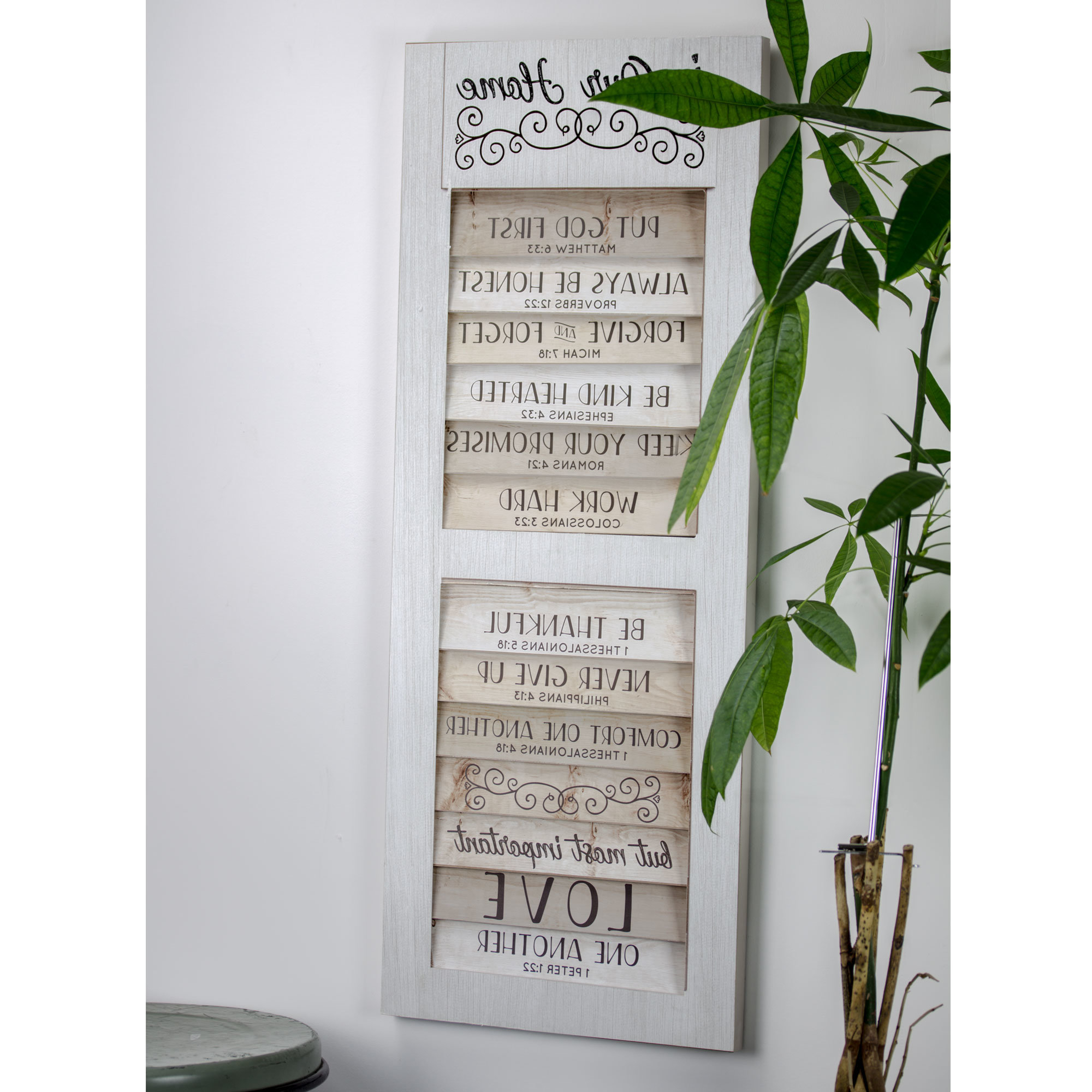 Famous Gracie Oaks Shutter Window Hanging Wall Décor & Reviews (View 5 of 20)