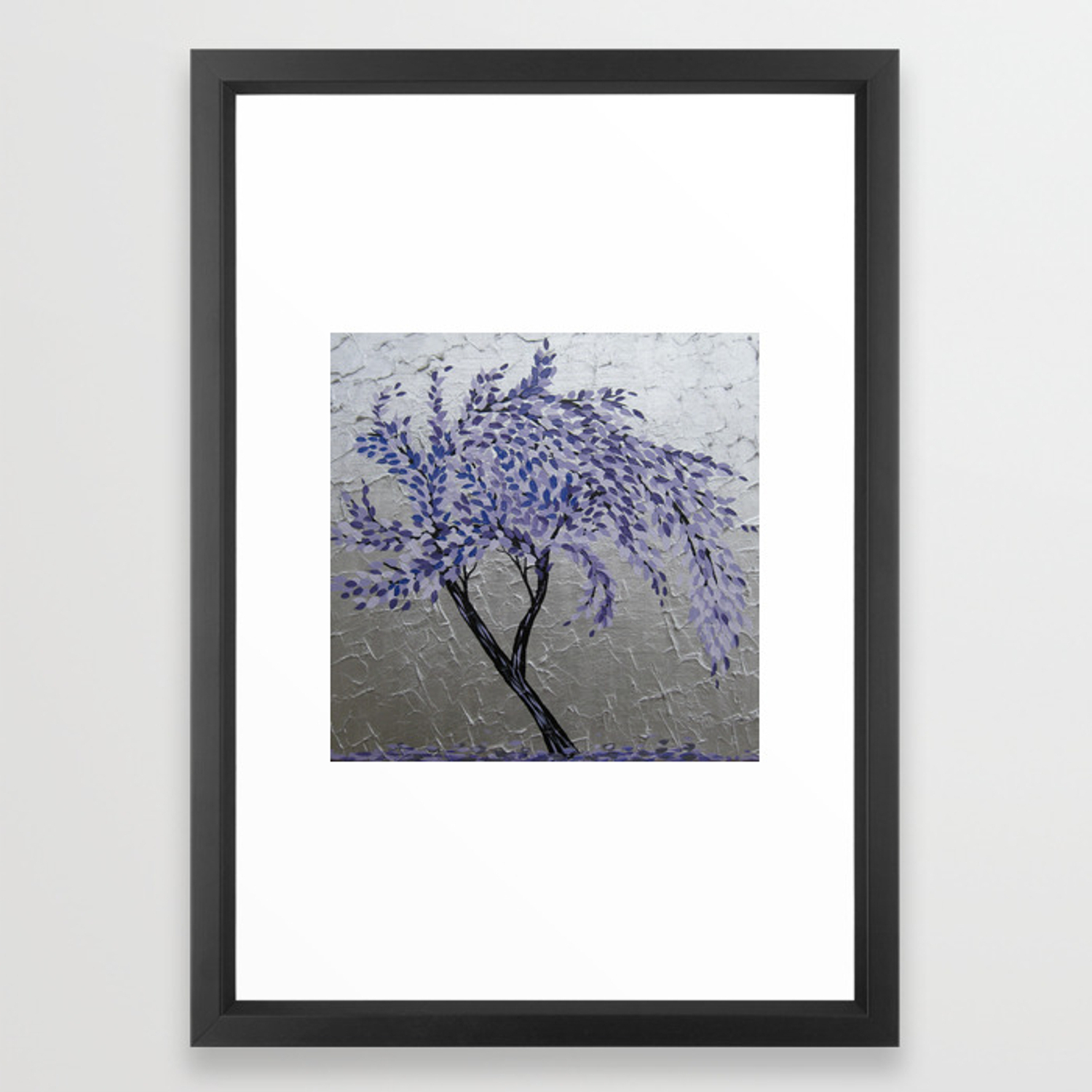 Famous Windswept Tree Wall Decor In Purple Windswept Tree Framed Art Printcathyjacobs (Gallery 15 of 20)