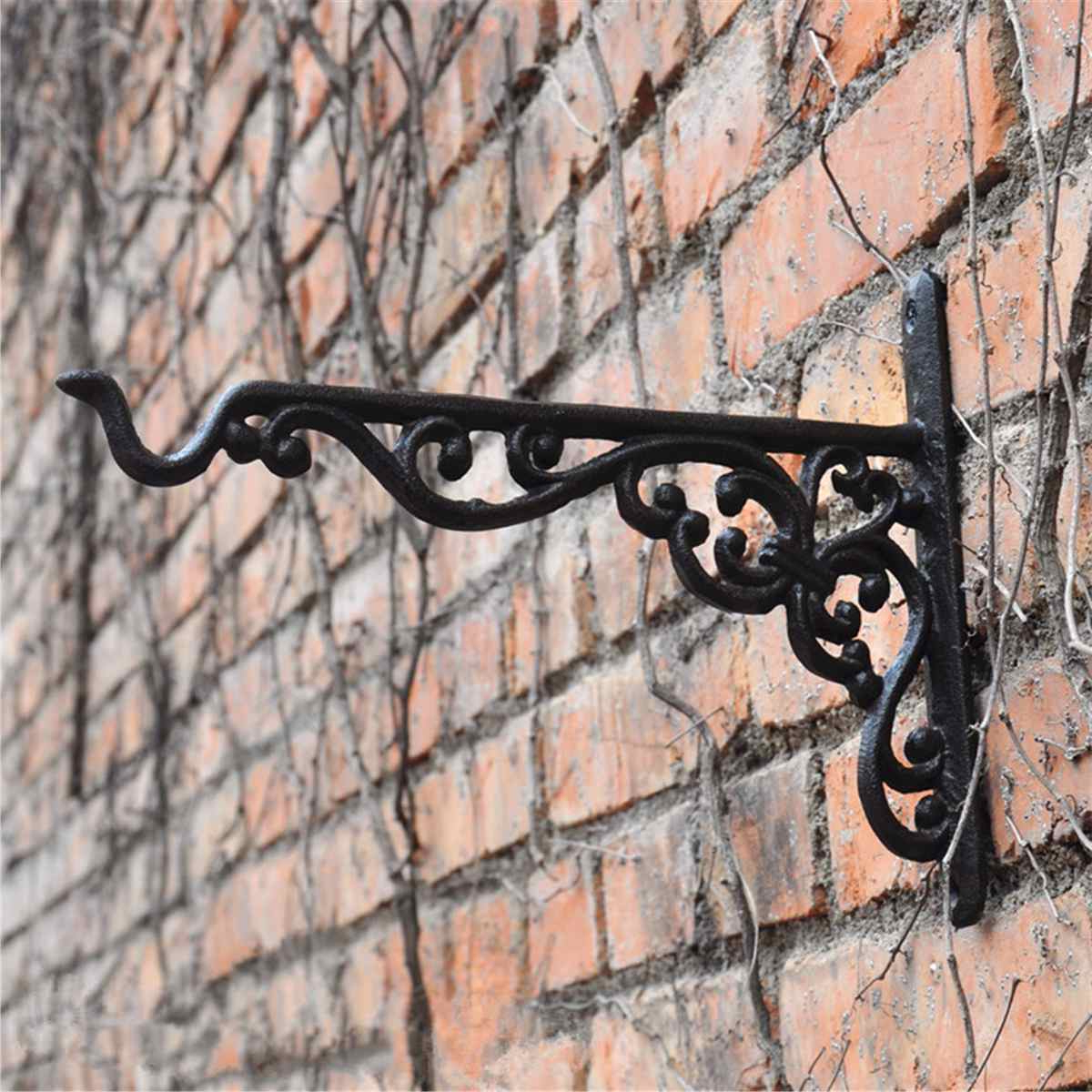 Farm Metal Wall Rack And 3 Tin Pot With Hanger Wall Decor In Most Up To Date 3 Cast Iron Hat Coat Keys Hook Antique Metal Rack Hanger For Hanging (View 13 of 20)