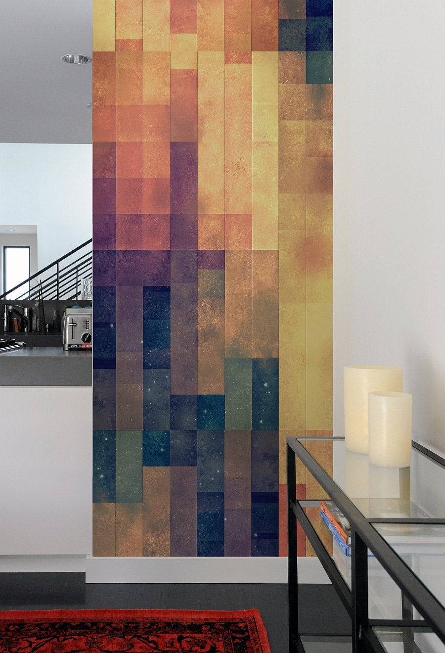 Fashionable Contemporary Geometric Wall Decor Throughout Furniture: Astonishing Geometric Wall Decal Ideas For Modern Home (View 13 of 20)