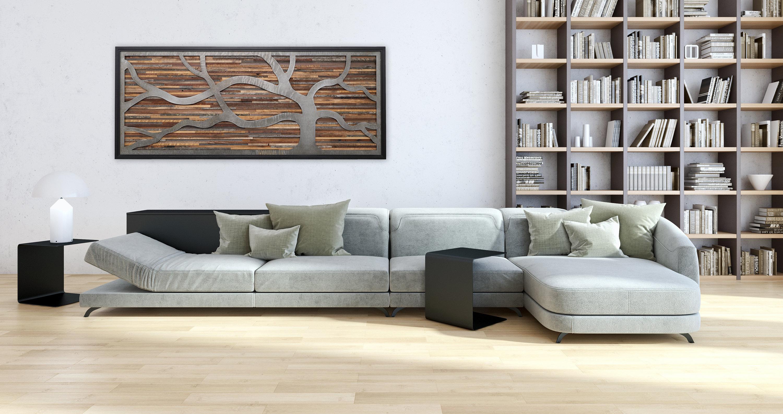 Fashionable Windswept Tree Wood Wall Art Large Wall Art Metal Wall (View 18 of 20)