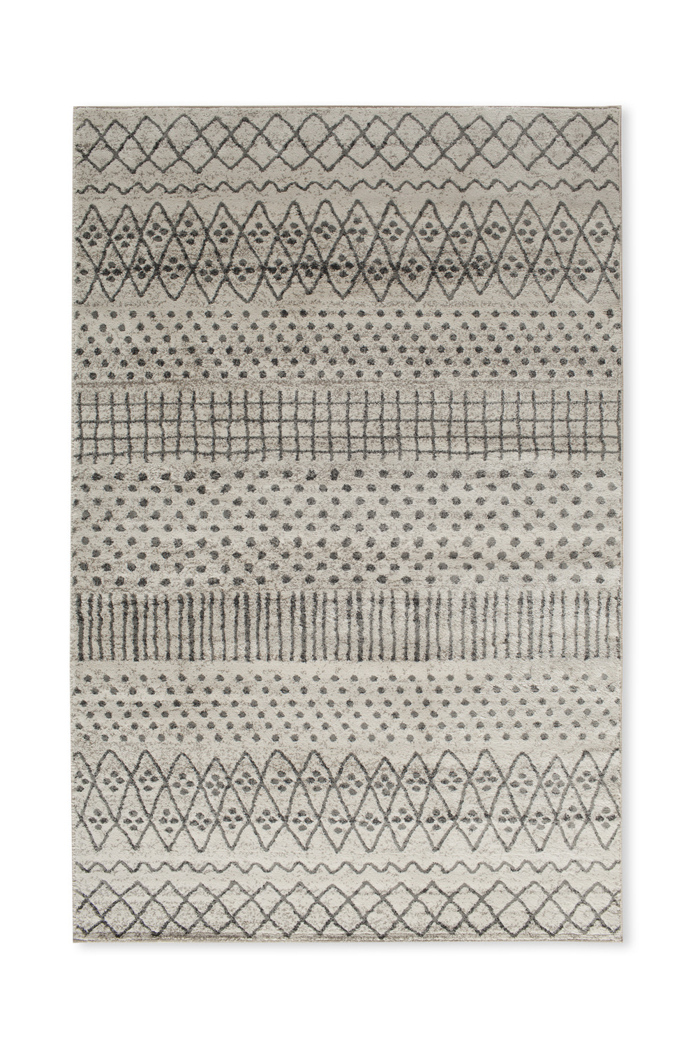 Favorite Alvis Traditional Metal Wall Decor Regarding Corso Azzurro Alvis Birch/ Sterling Area Rug (View 13 of 20)