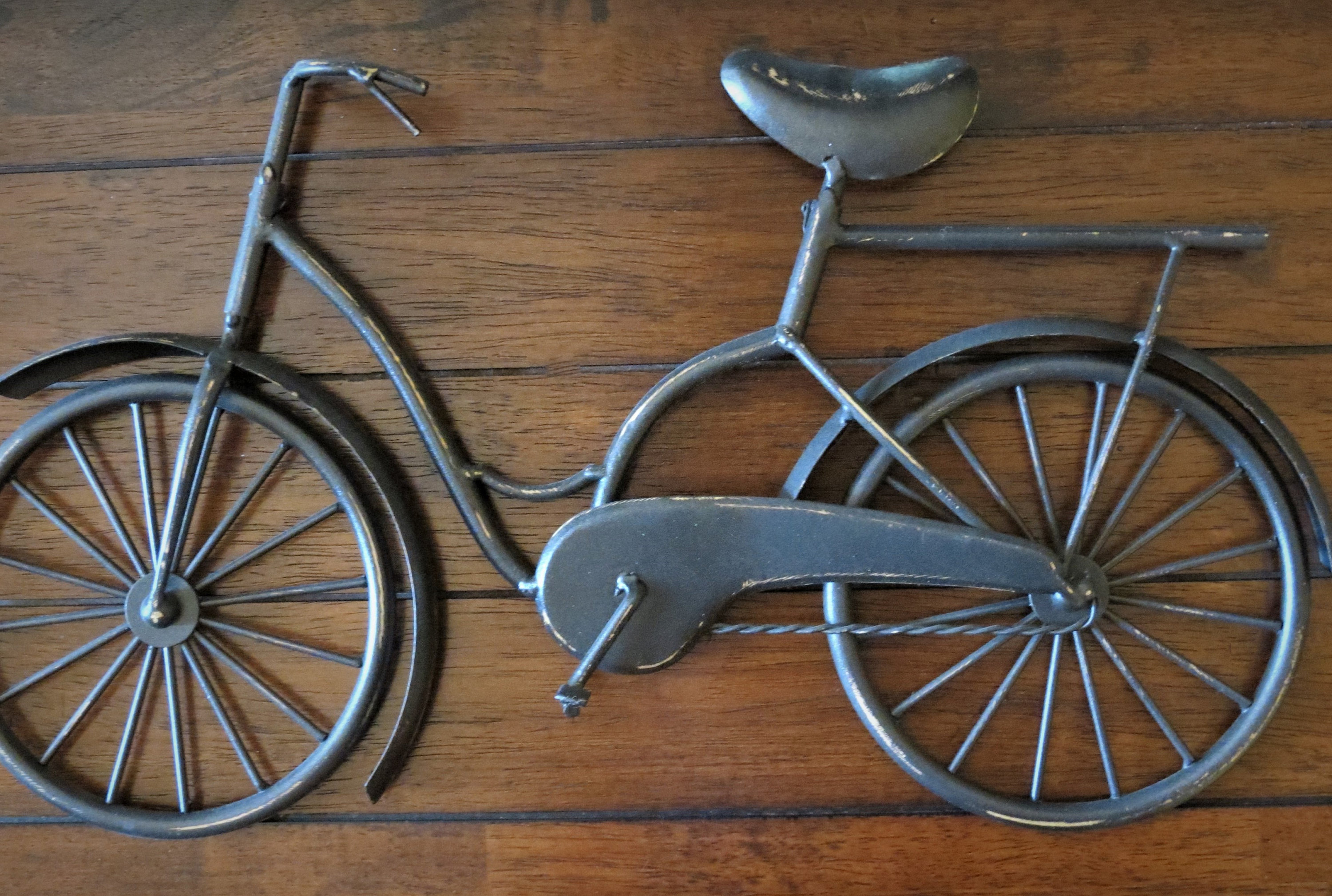 Favorite Bike Wall Decor / Oil Rubbed Bronze Or Pick Your Color / (View 8 of 20)