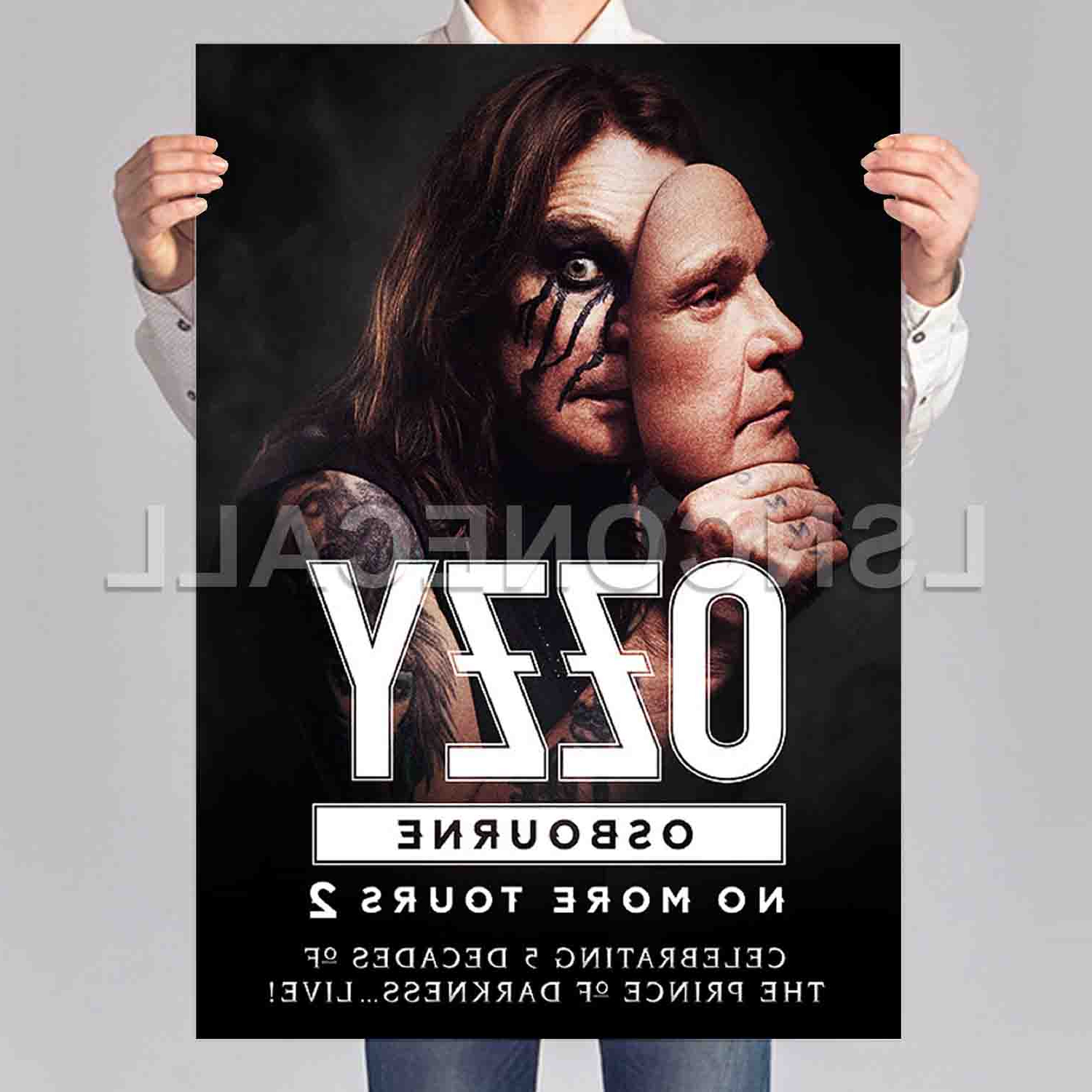 Favorite Ozzy Osbourne No More Tours 2 Poster Print Art Wall Decor – Intended For Osbourne Wall Decor (View 6 of 20)
