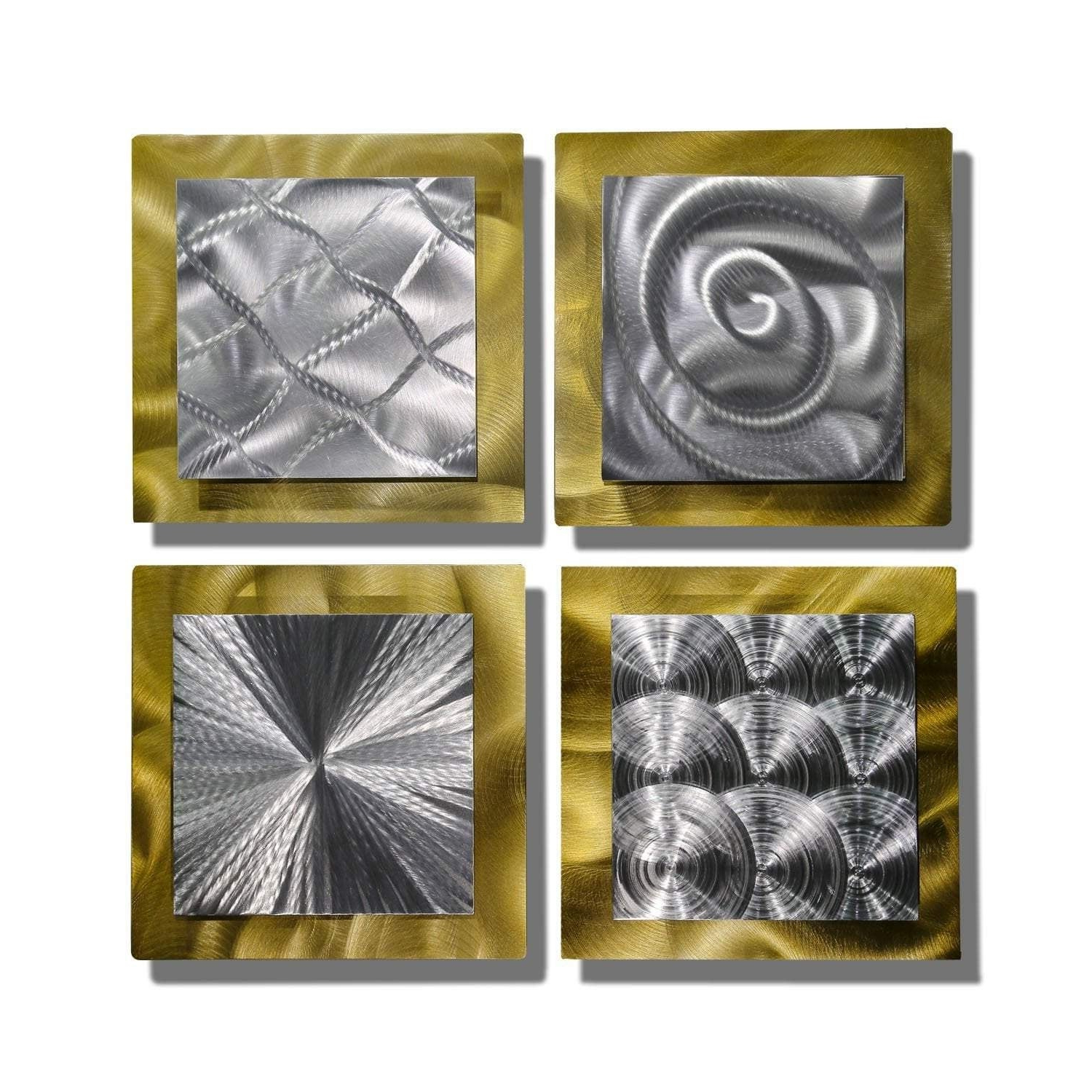 Find Great Art Gallery Deals Shopping At Overstock Throughout Well Known 4 Piece Metal Wall Decor Sets (View 8 of 20)