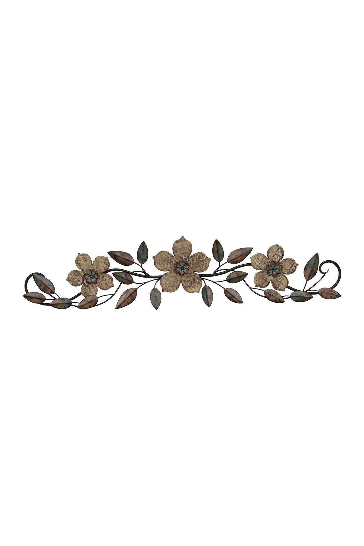 Floral Patterned Wood Over The Door Multicolor Wall Decor Inside Favorite Floral Patterned Over The Door Wall Decor (View 10 of 20)
